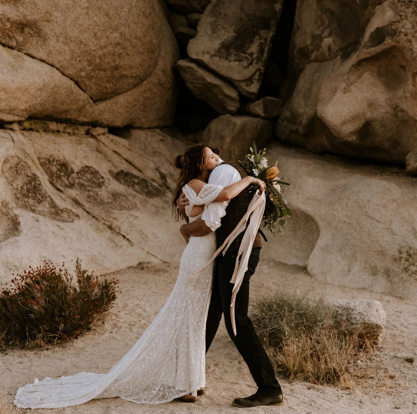 Joshua Tree elopement Paige Nelson