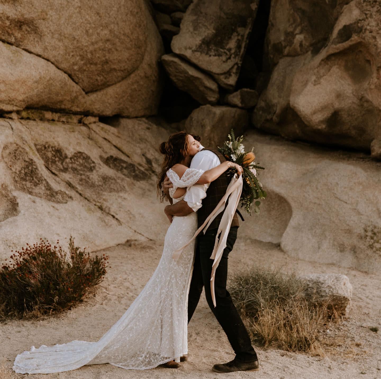 Joshua Tree elopement Paige Nelson