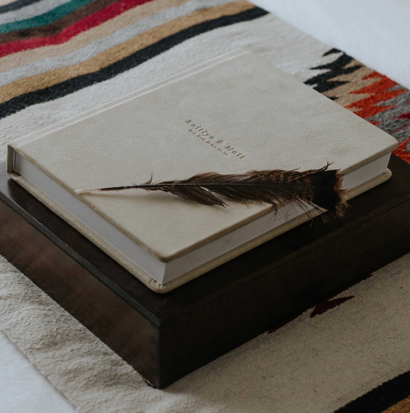 Walnut Boxes Heirloom Album Paige Nelson