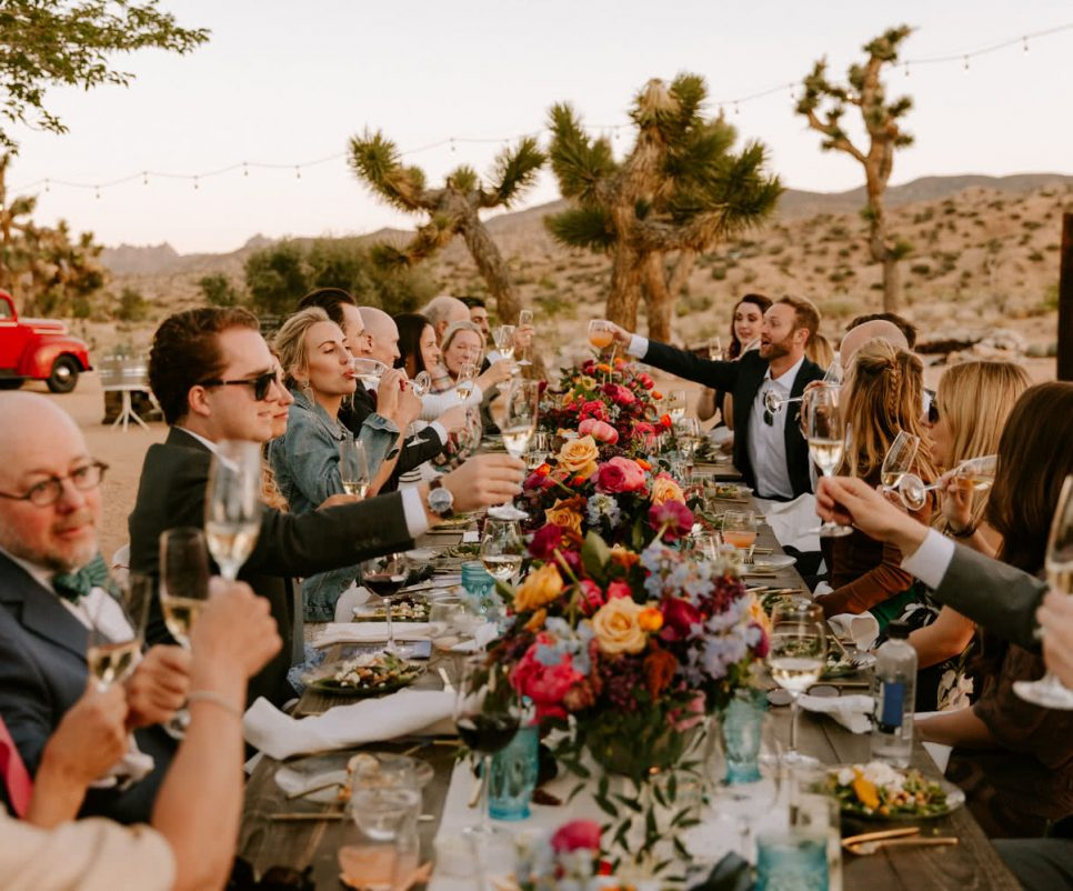 Rimrock Ranch Wedding Pioneertown