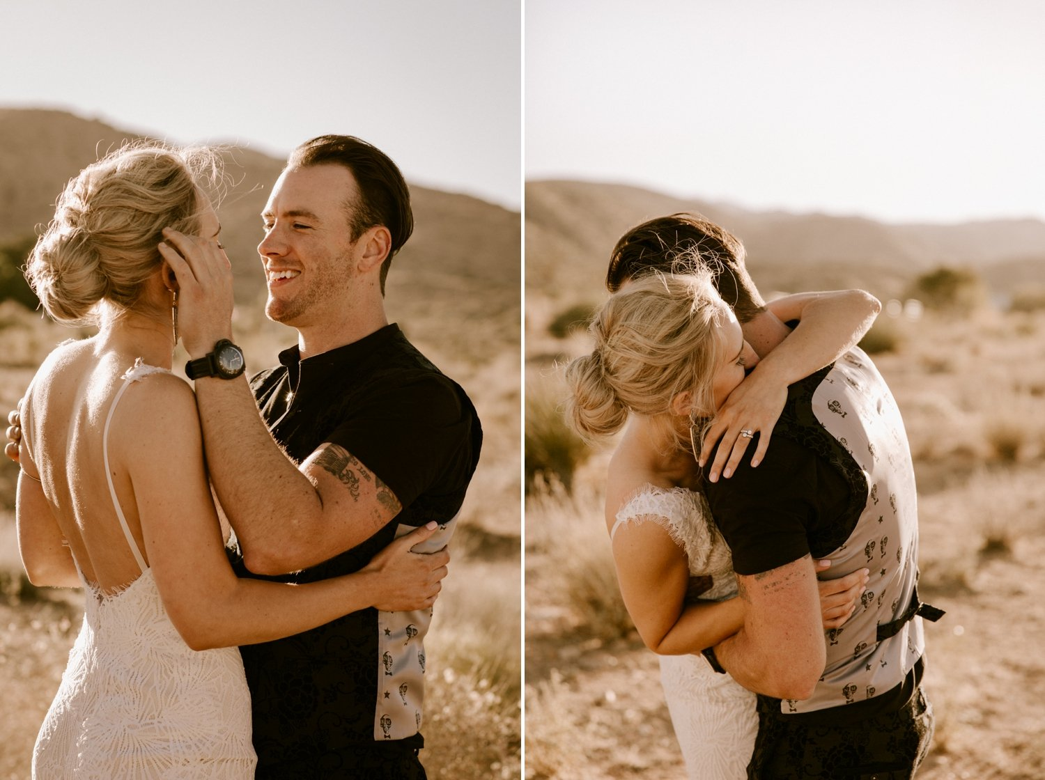 Joshua Tree elopement photographer Paige Nelson