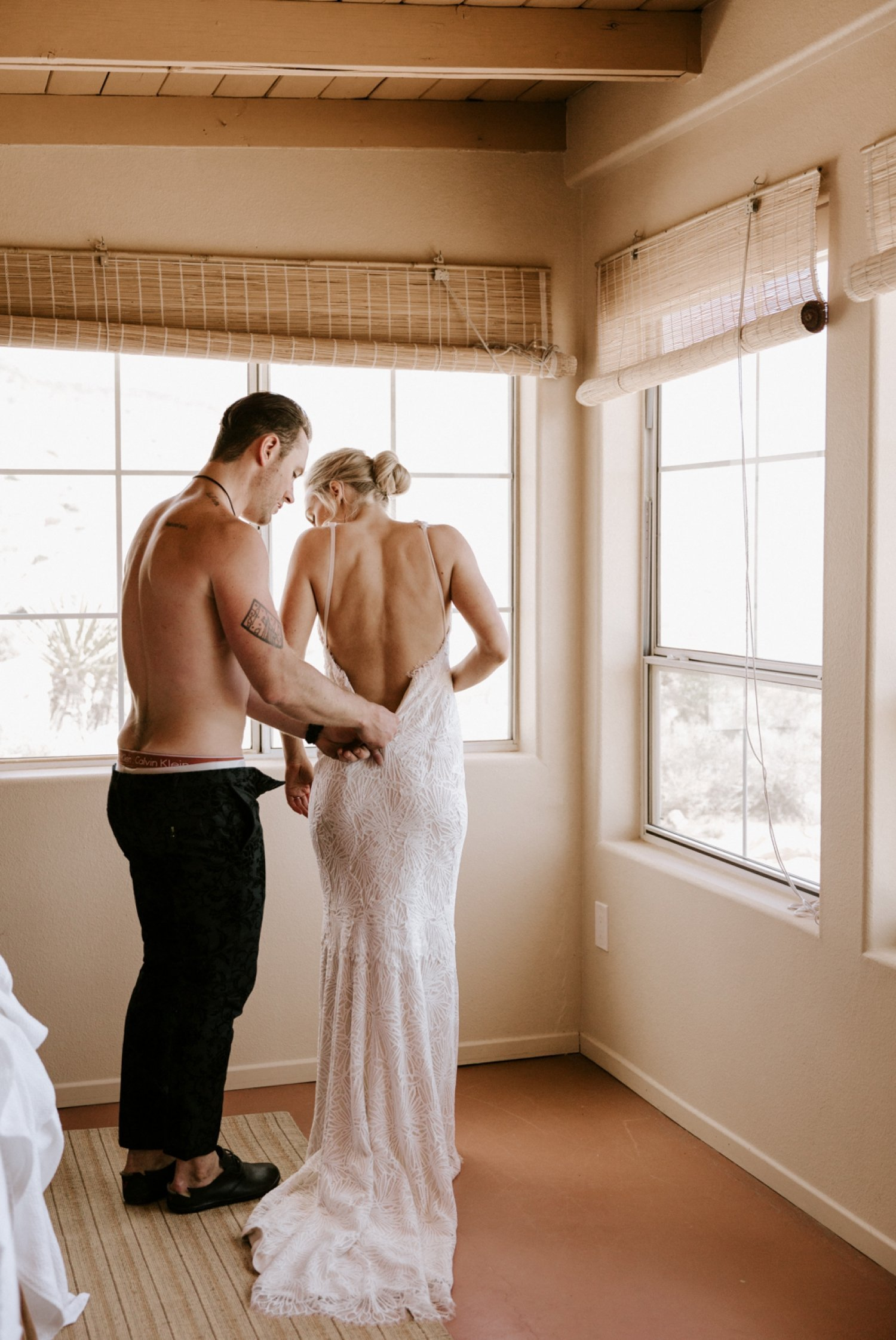 Intimate Rimrock Ranch Wedding in Pioneertown Paige Nelson
