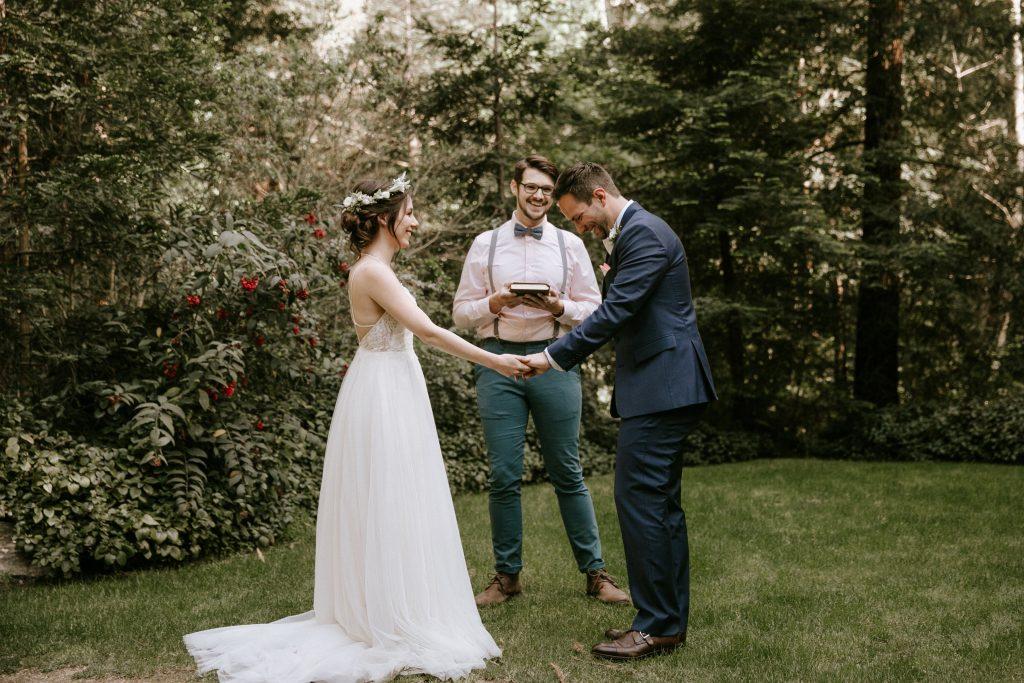 Big Sur Intimate Wedding Glen Oaks Paige Nelson