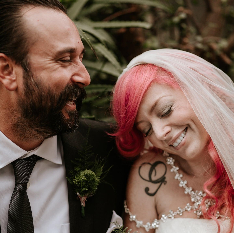 San Diego Botanic Garden Wedding Paige Nelson