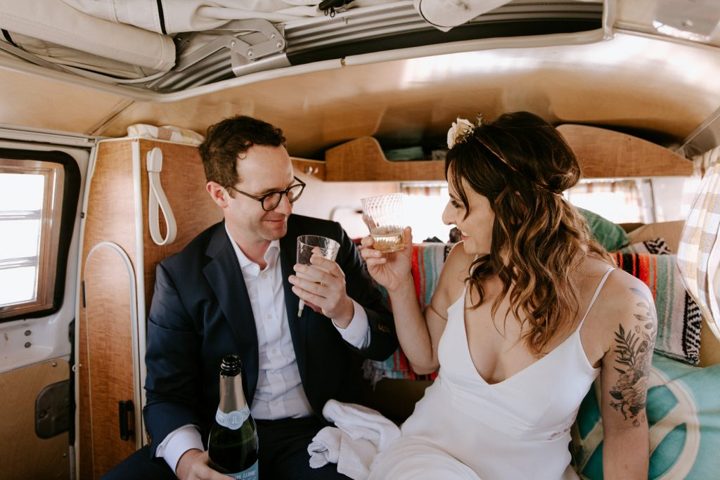 Elope in Joshua Tree, elopement photographer Paige Nelson