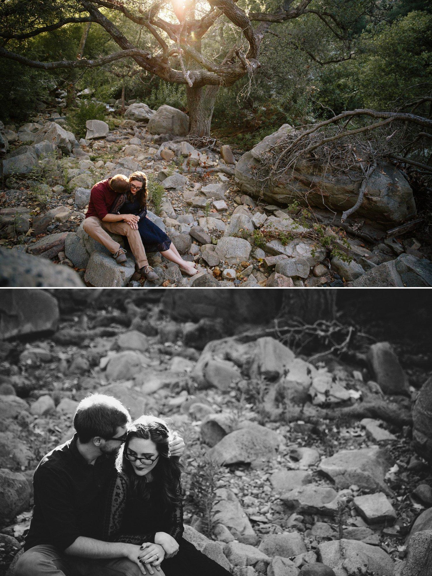 Elfin Forest engagement San Diego