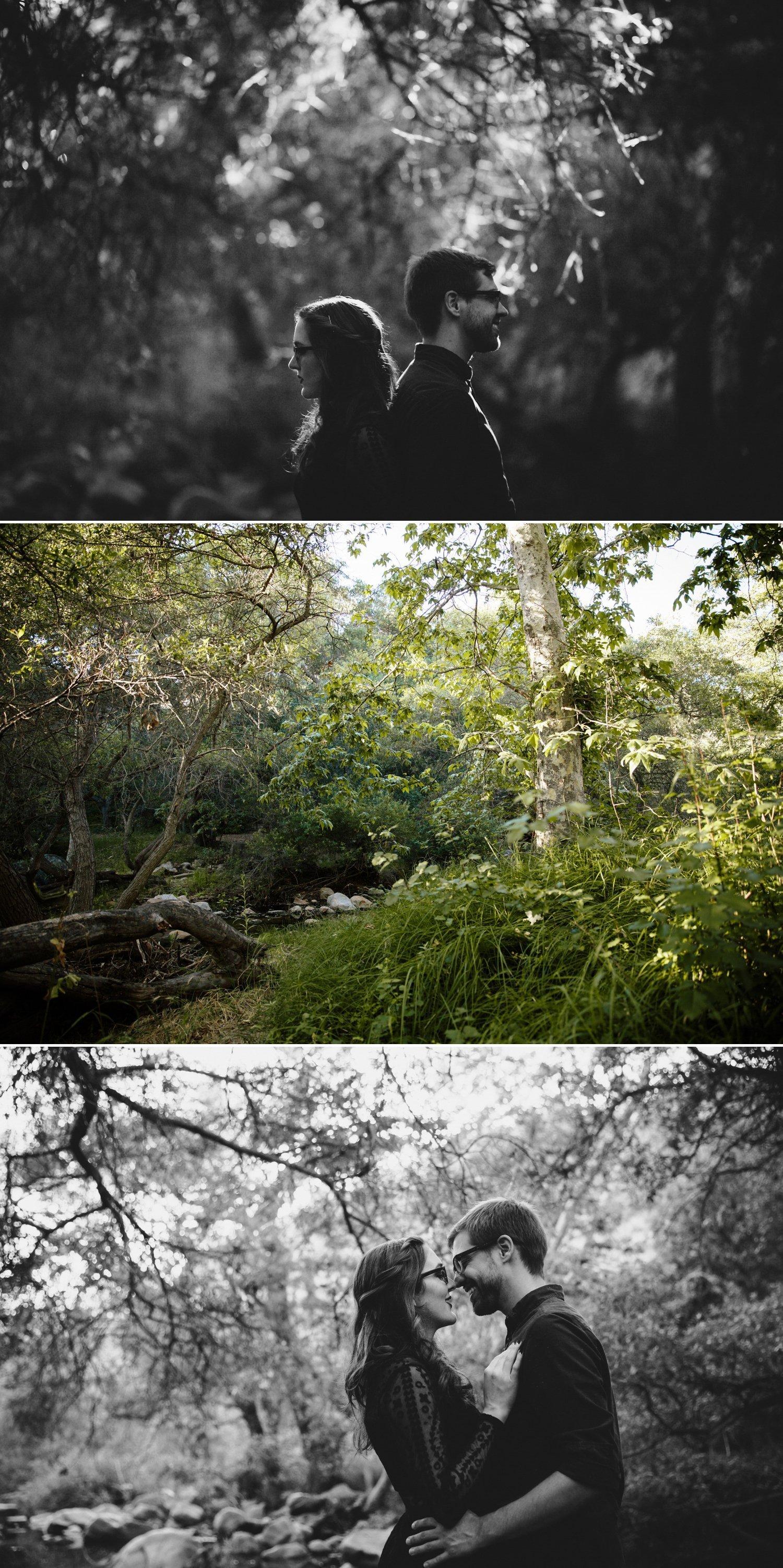 San Diego engagement Elfin Forest
