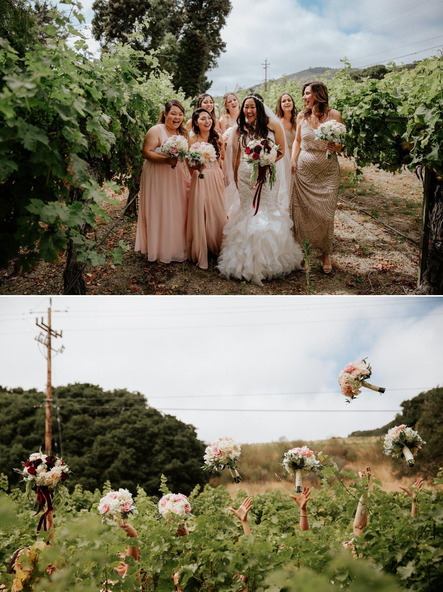 Folktale Winery Wedding in Carmel Paige Nelson