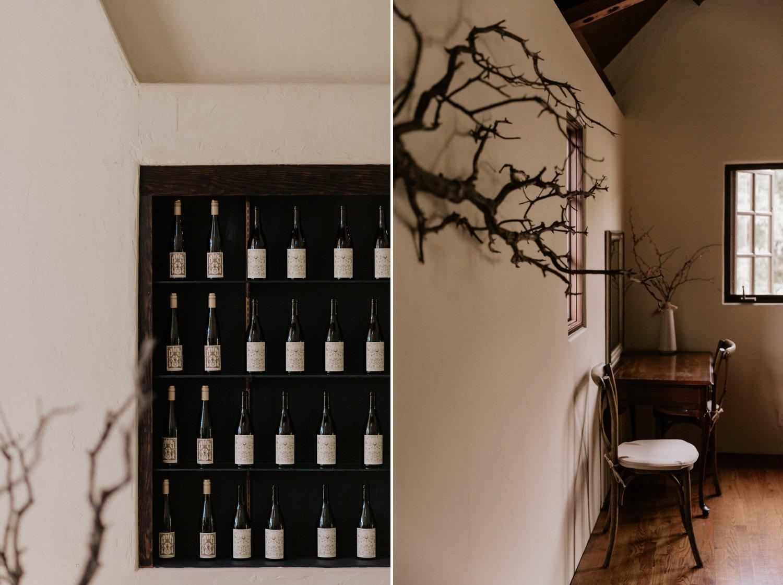 Vineyard wedding Folktale Winery Carme