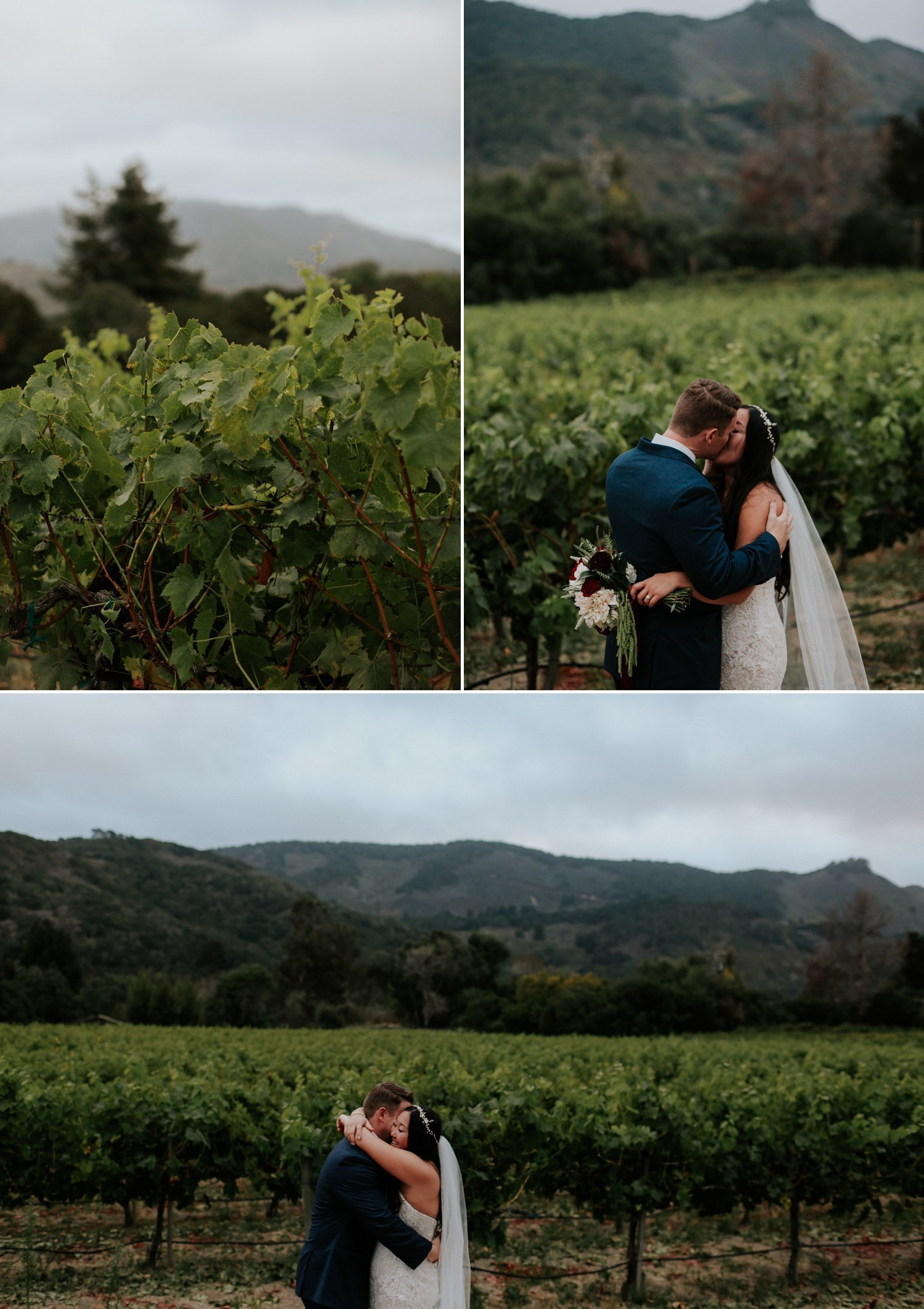 Carmel wedding by Paige Nelson