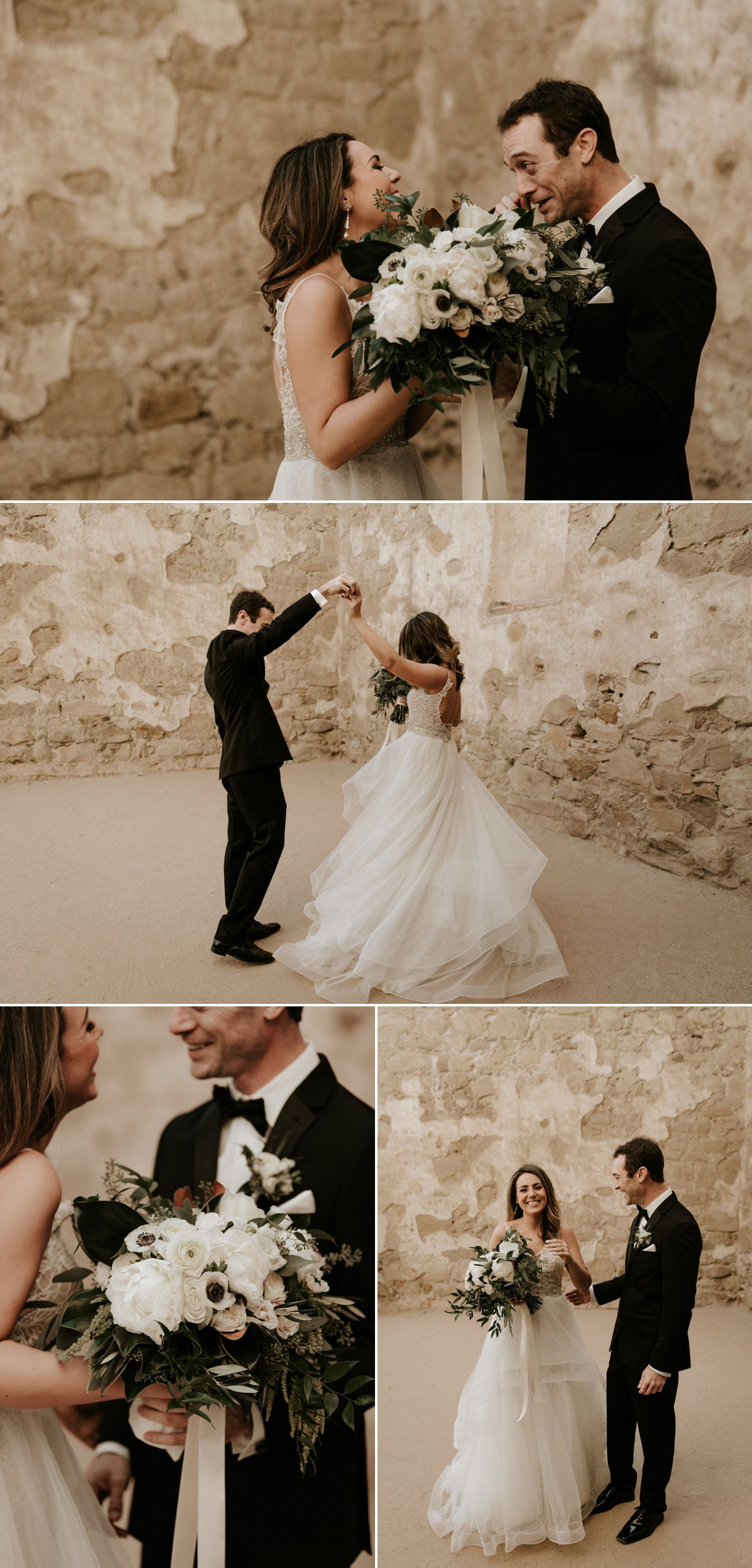 Mission San Juan Capistrano wedding Paige Nelson