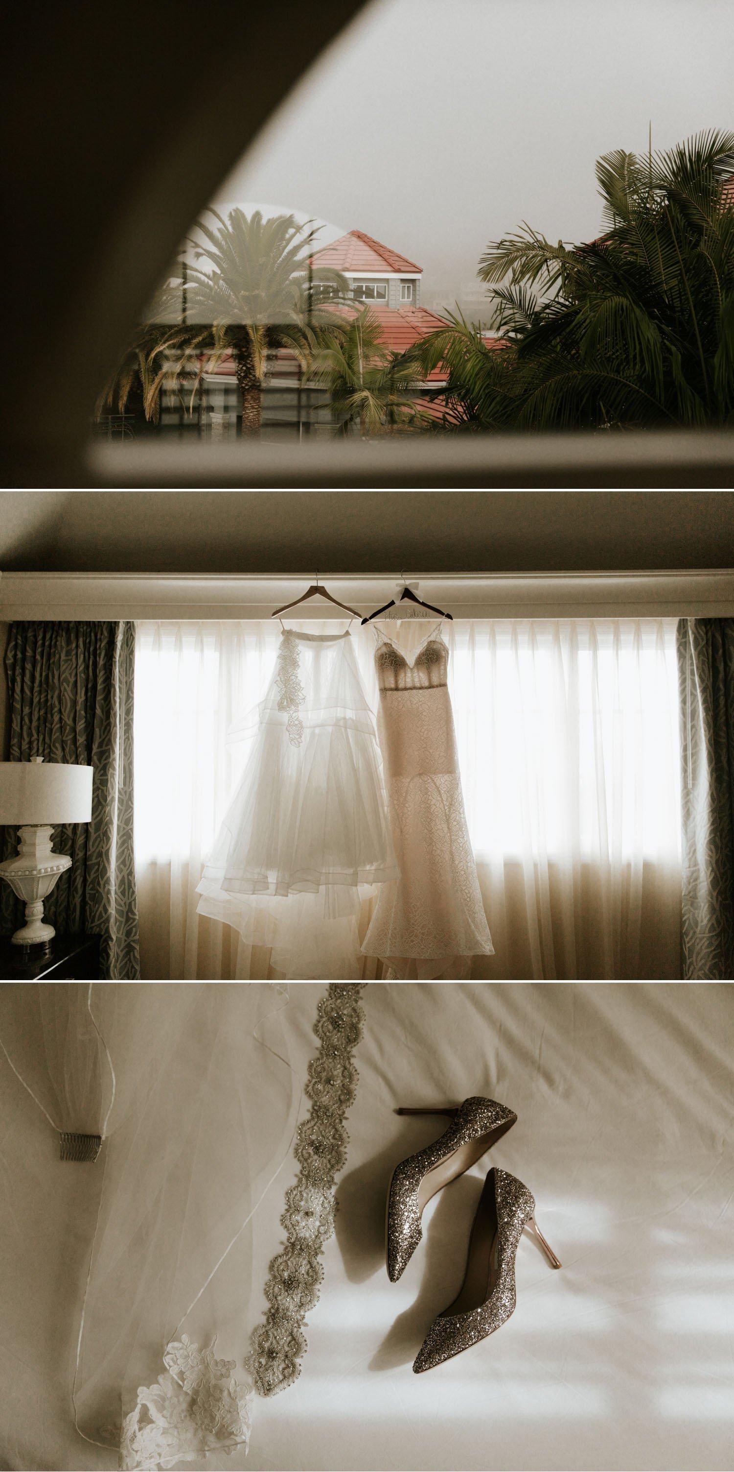Hayley Paige Two Piece Wedding Dress