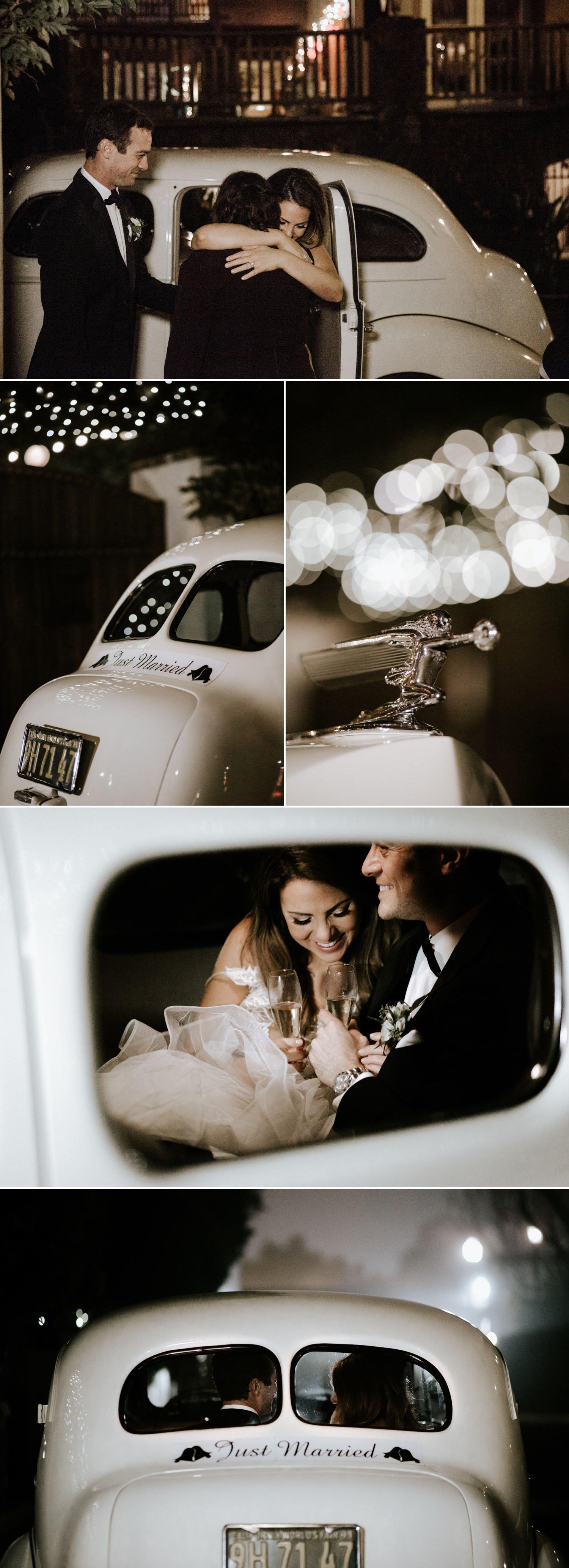 Rolls Royce Get away car wedding