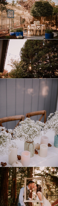 DIY Backyard wedding Paige Nelson