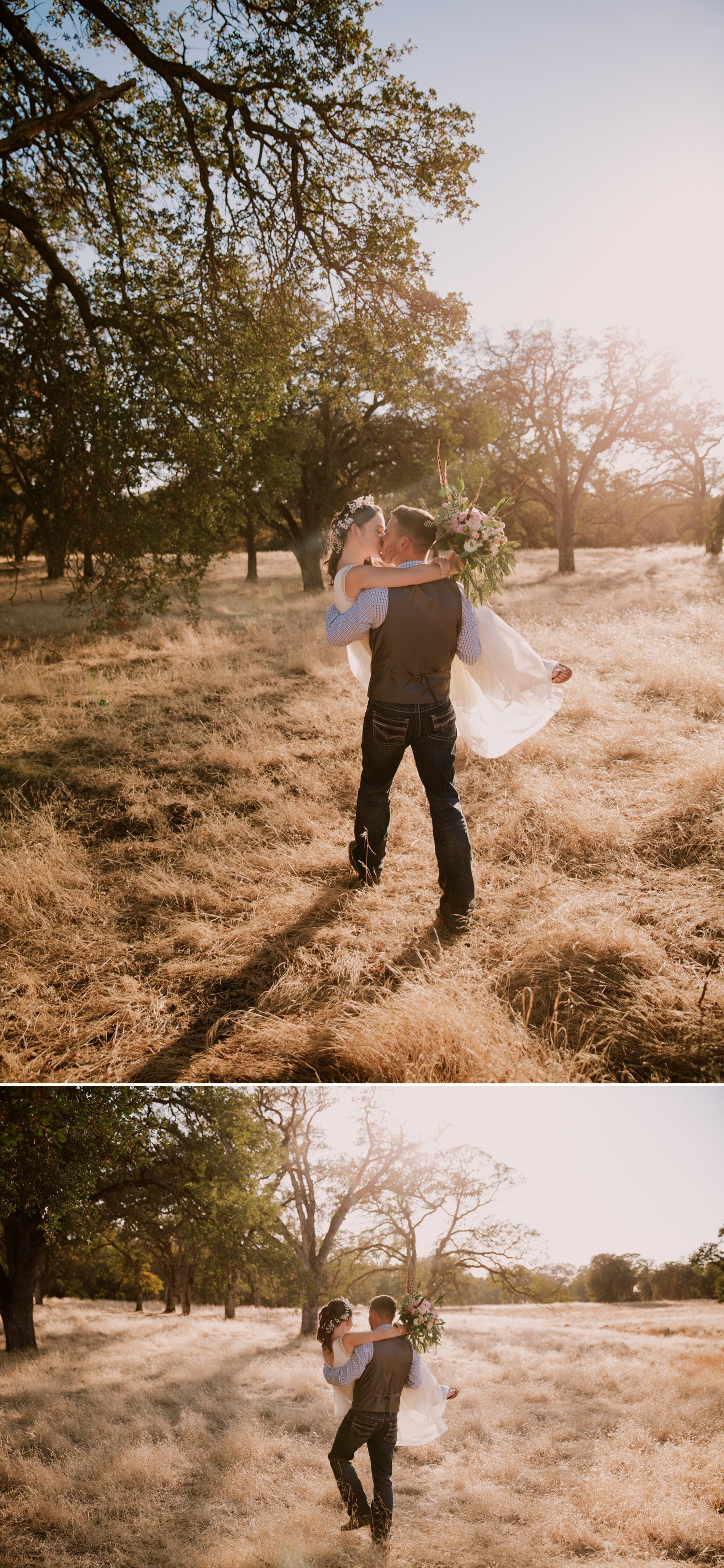 Intimate Backyard Wedding in Roseville