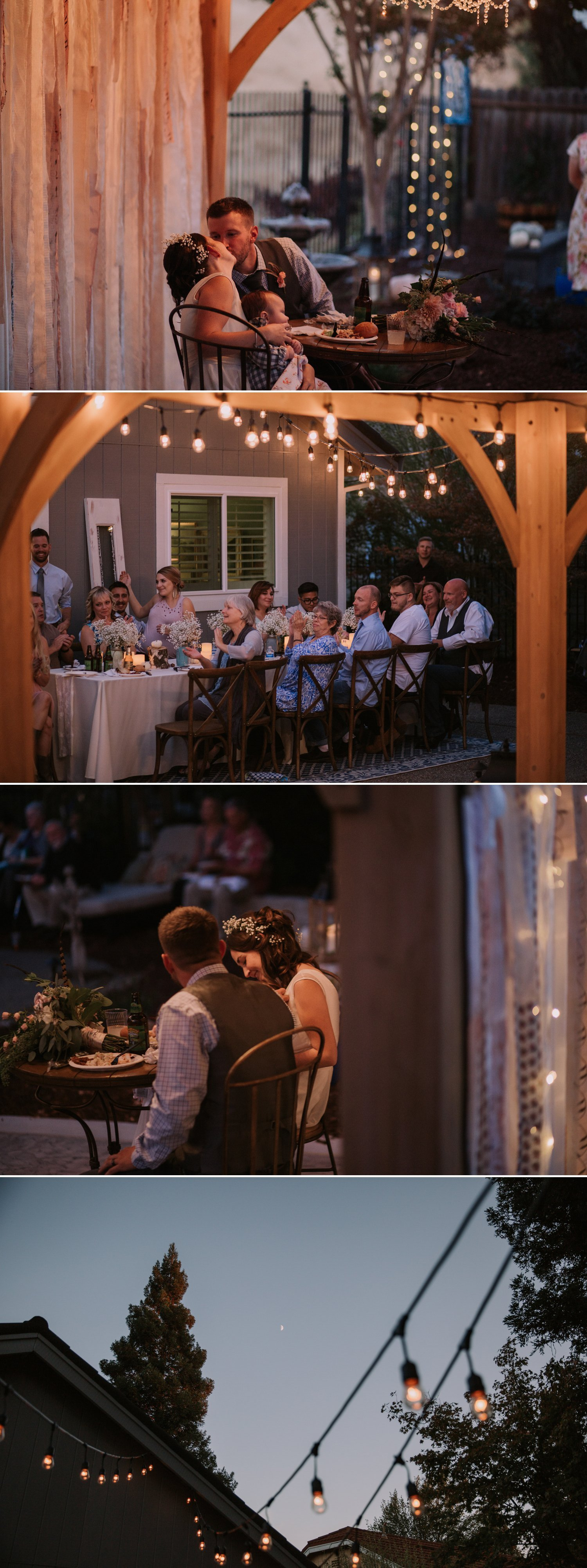 Intimate Backyard Wedding Roseville Paige Nelson