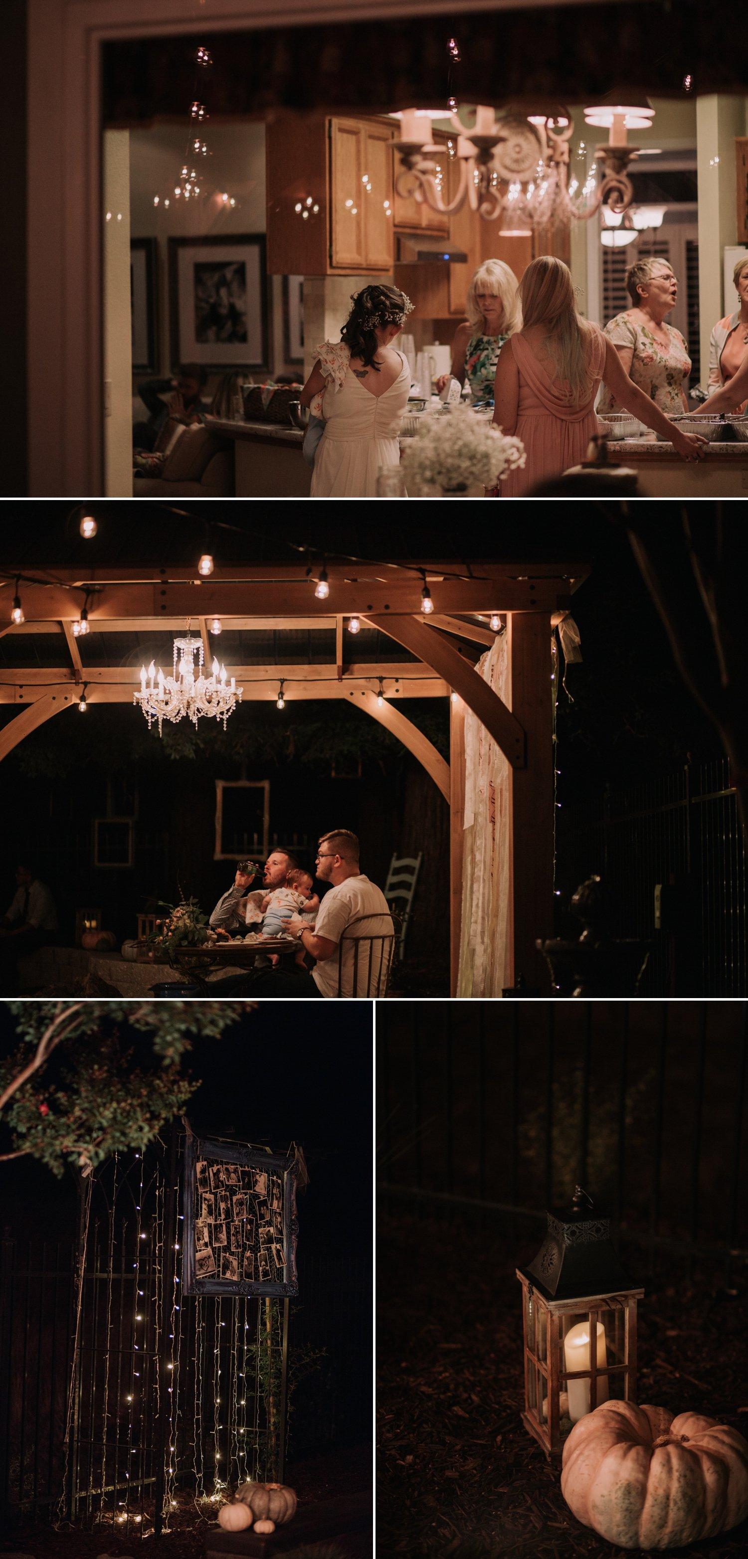 Intimate Backyard Wedding Roseville Paige Nelson