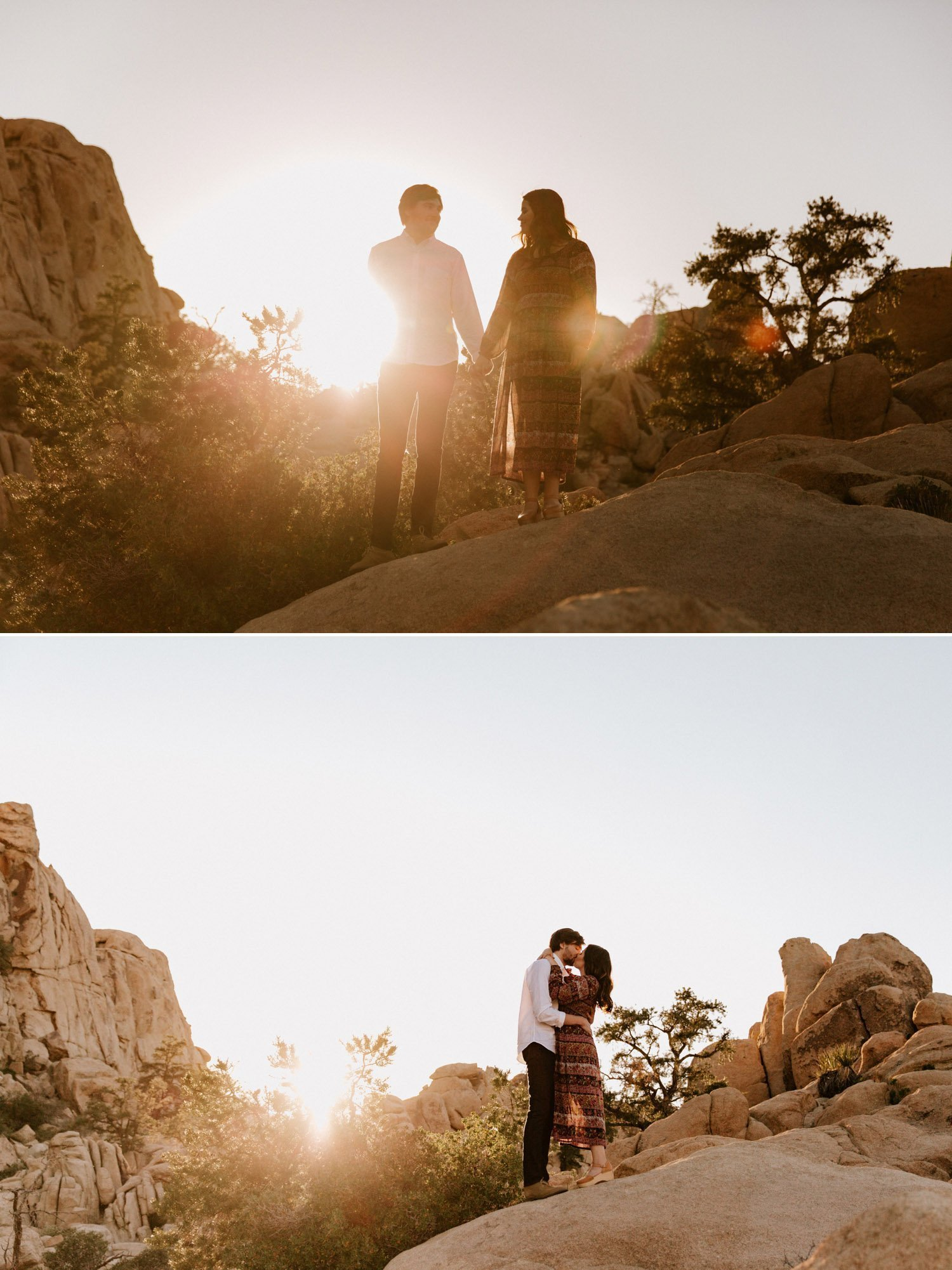 Joshua Tree engagement Paige Nelson