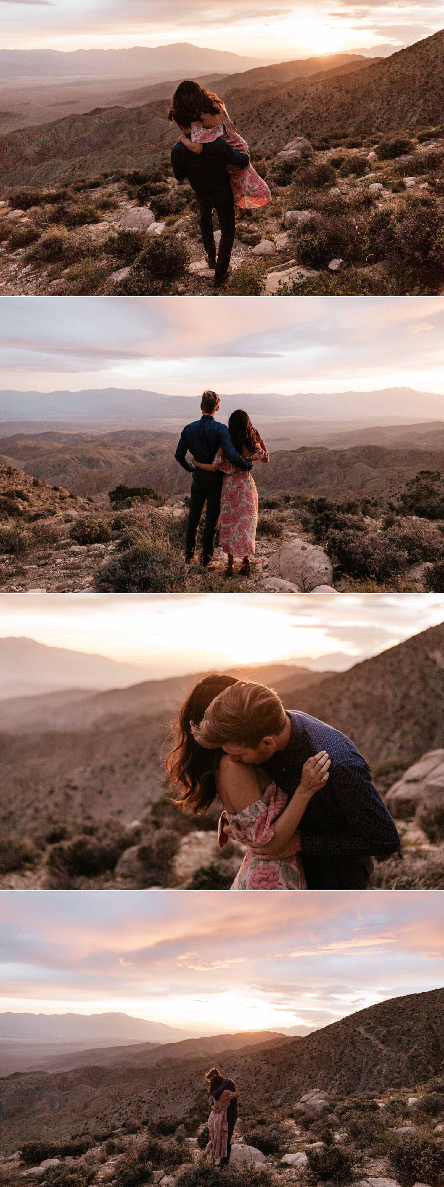 Joshua Tree engagement Amitis Nico