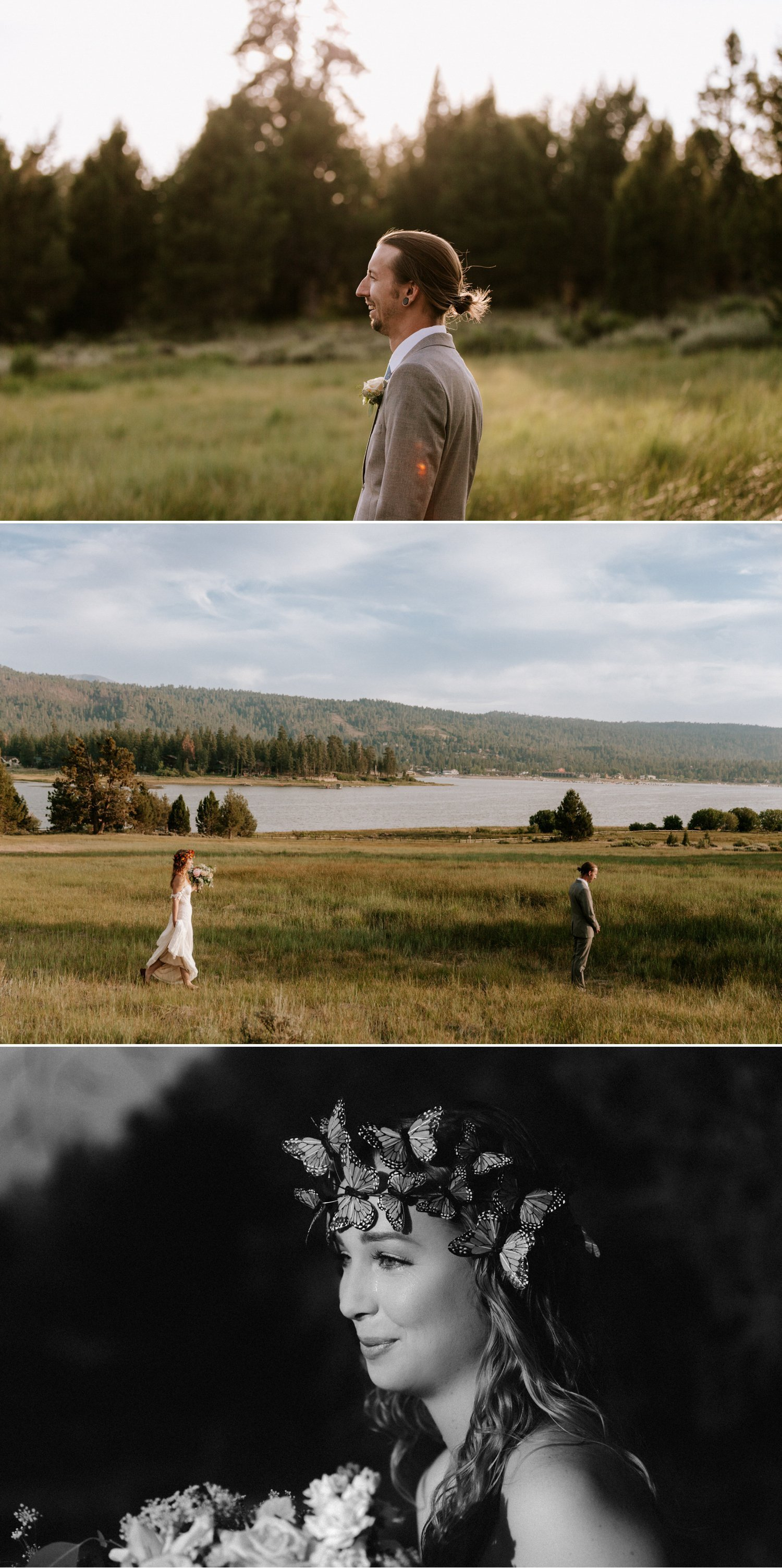 Lakeside elopement in Big Bear Paige Nelson
