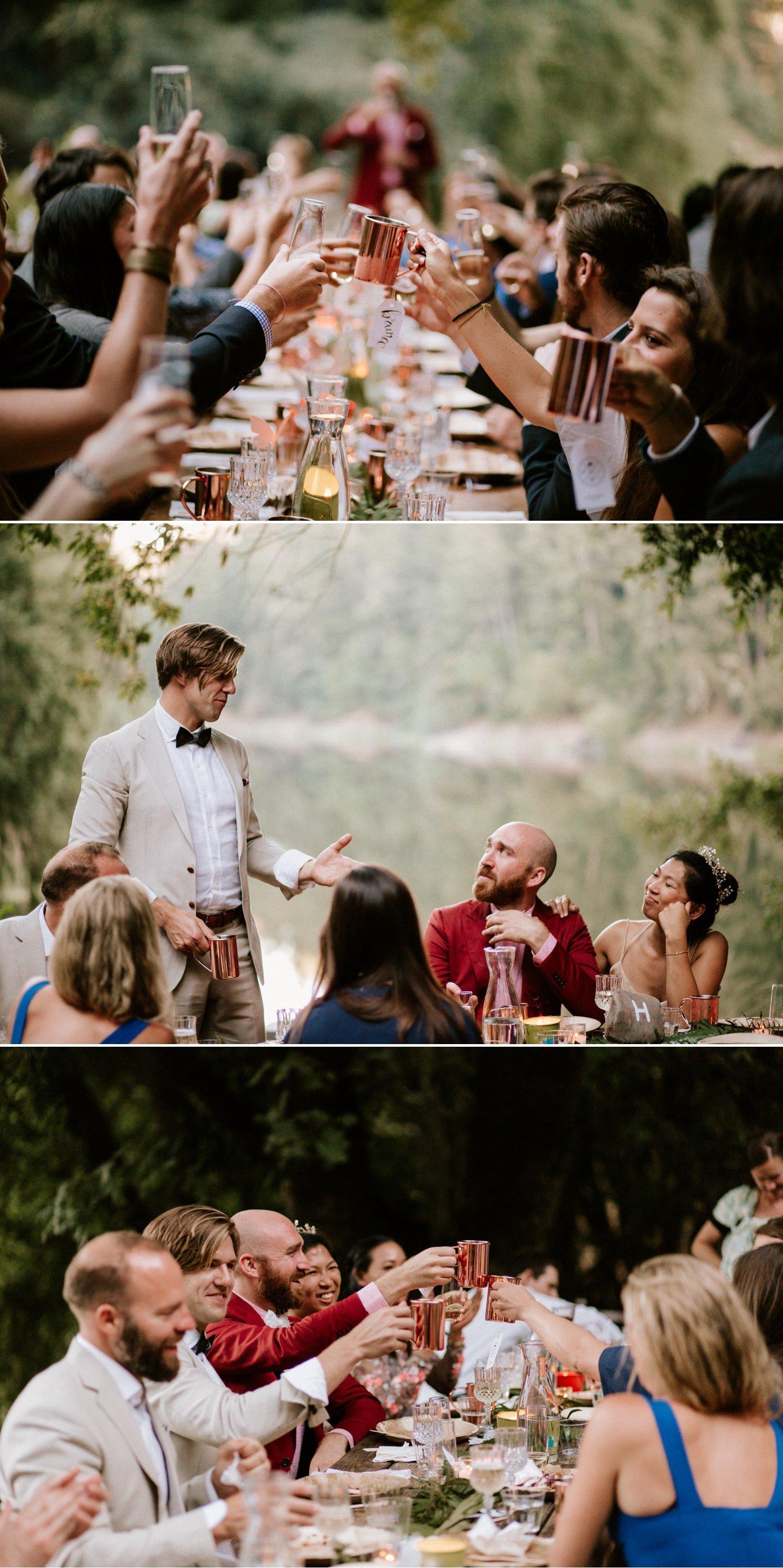 Leonard Lake Reserve wedding Redwood valley