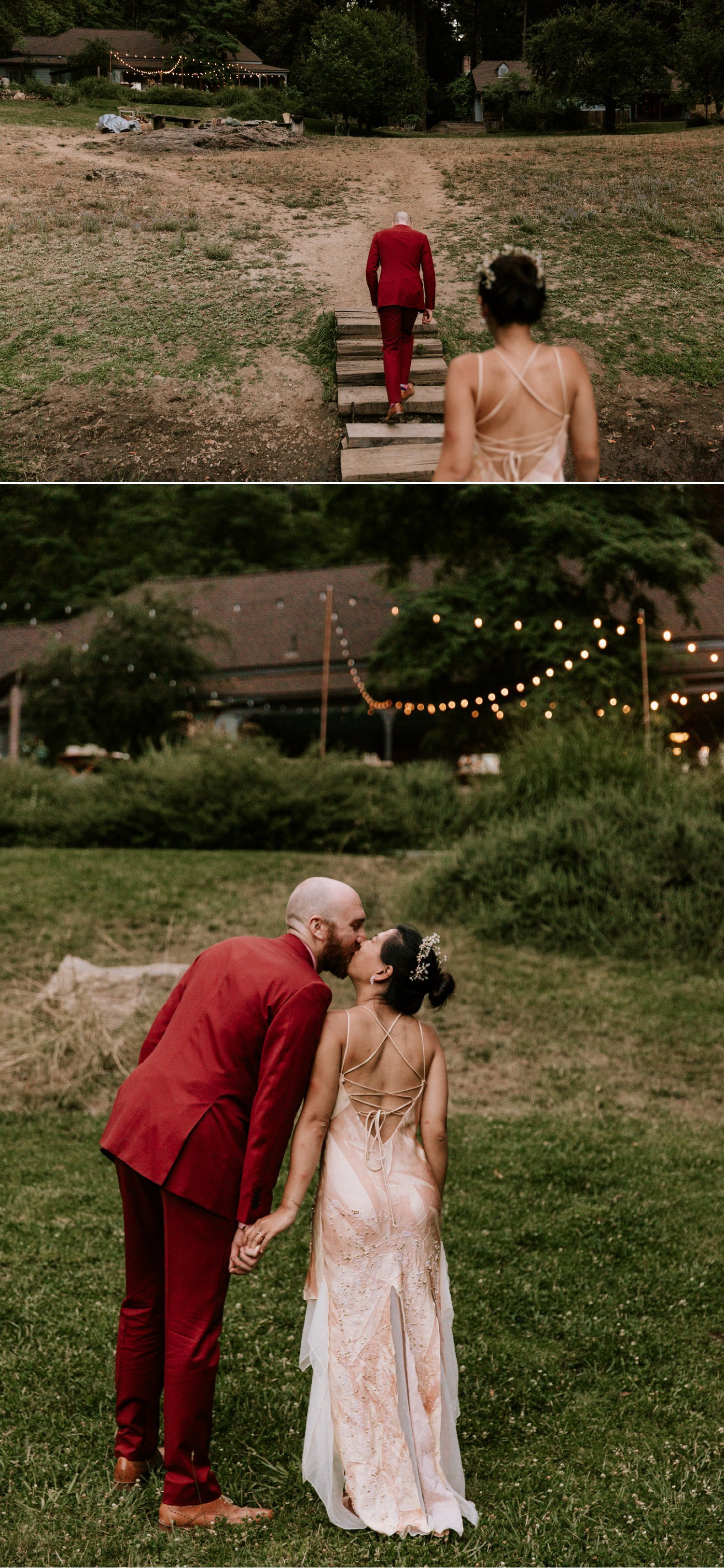 Leonard Lake Reserve wedding Redwood valley