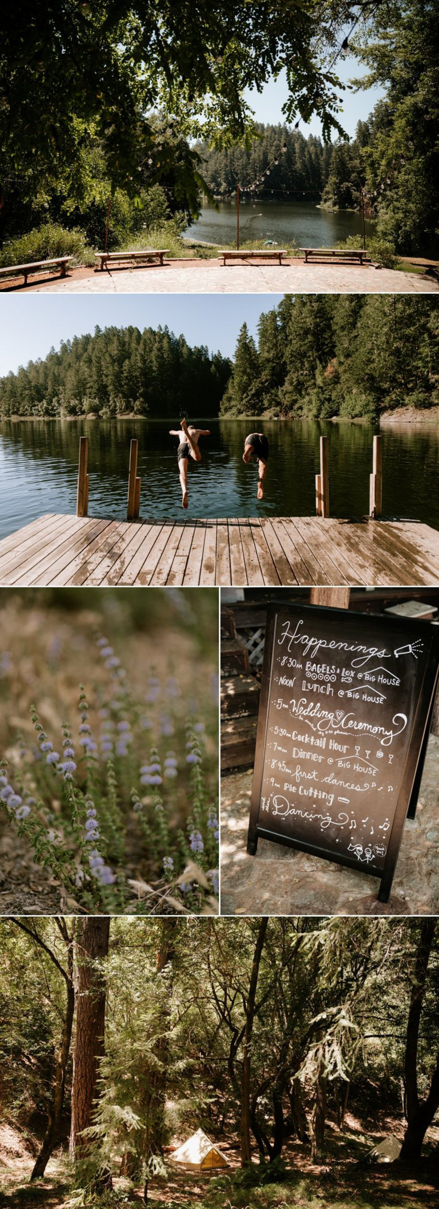 Leonard Lake Reserve Wedding Paige Nelson