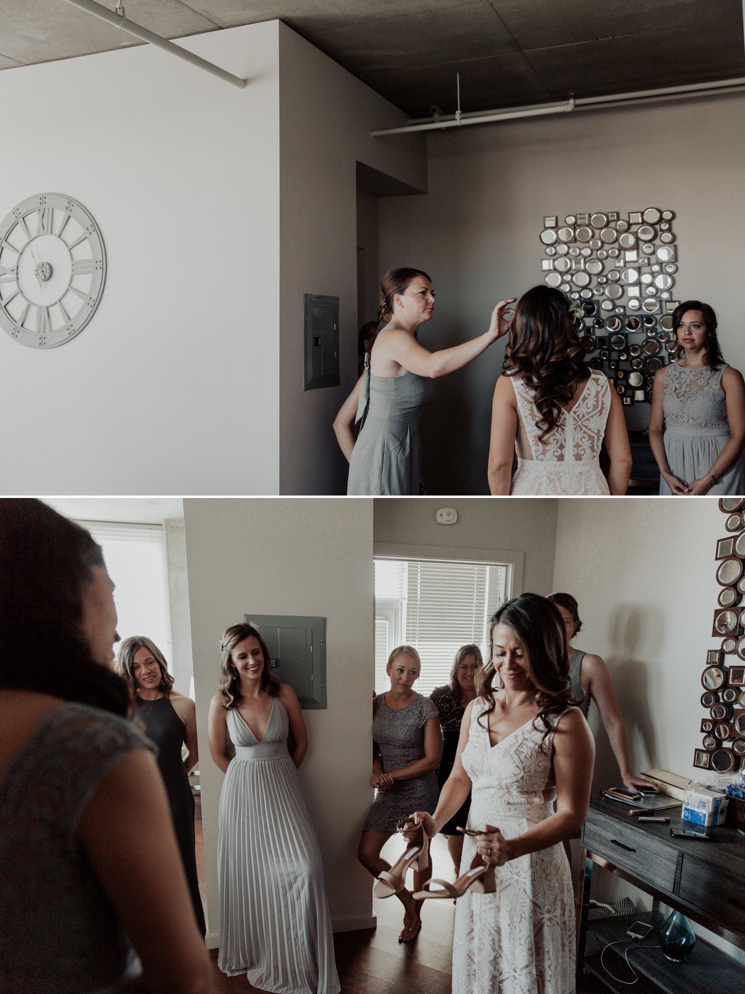 Downtown San Diego wedding Paige Nelson