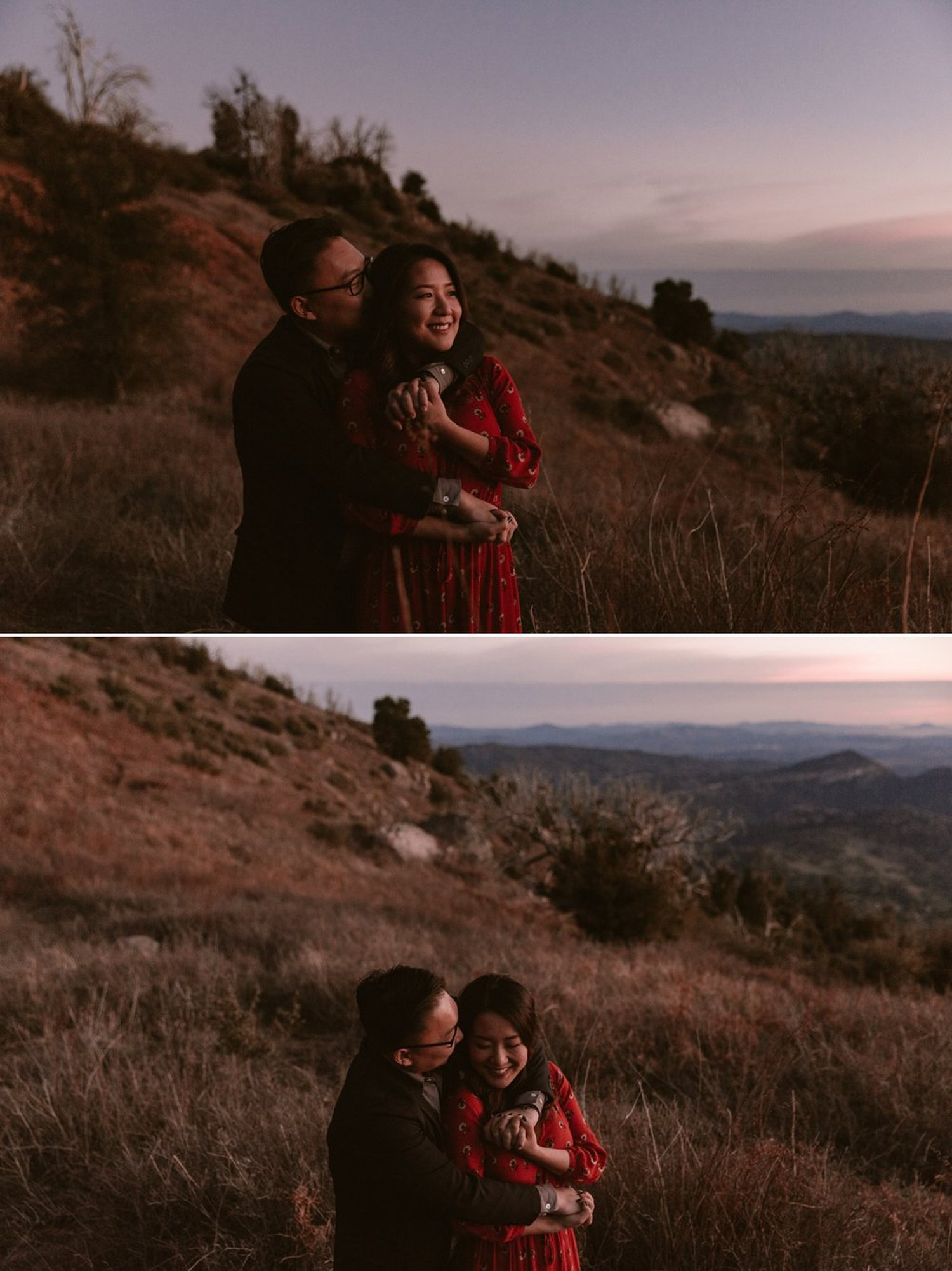 Palomar mountain engagement San Diego