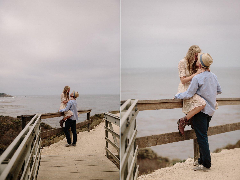 Point Lobos engagement Carmel Paige Nelson