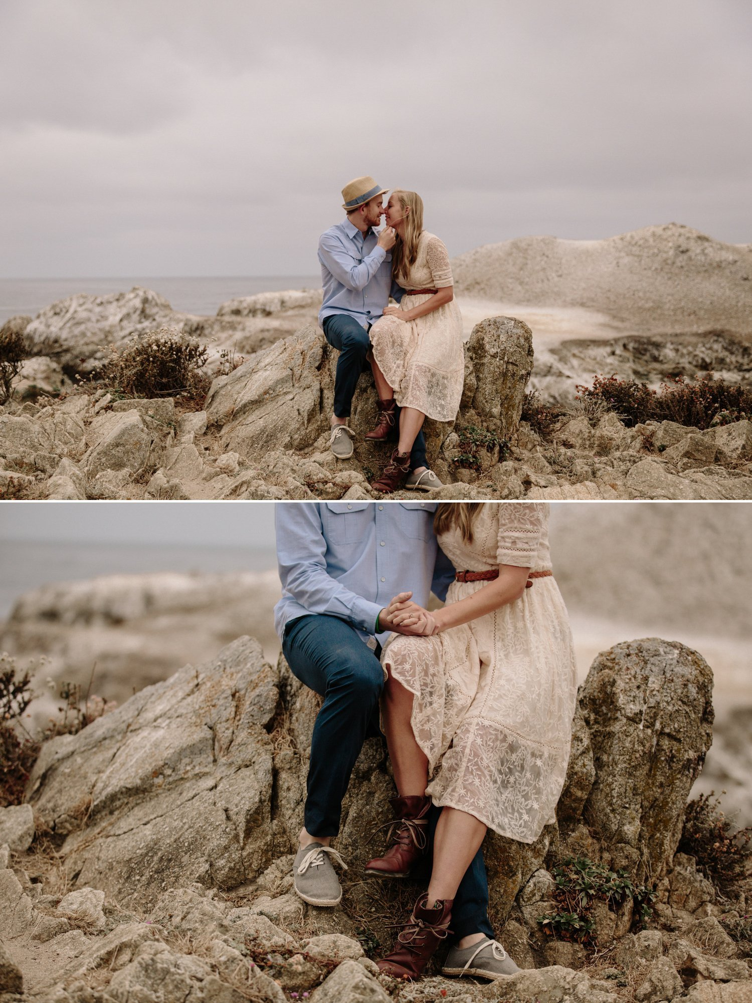 Point Lobos engagement Carmel Paige Nelson