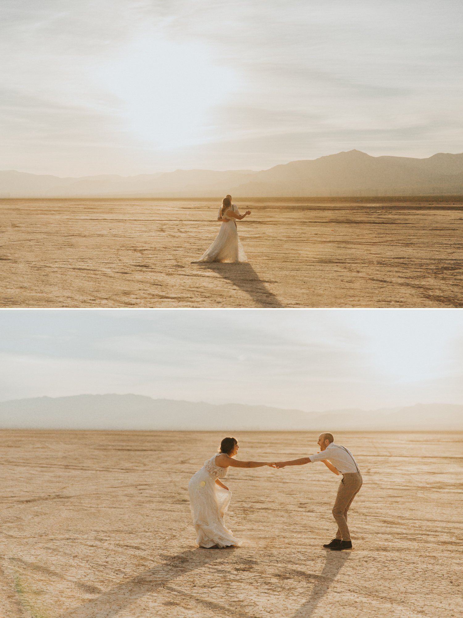 Las Vegas Elopement Dry Lake Bed