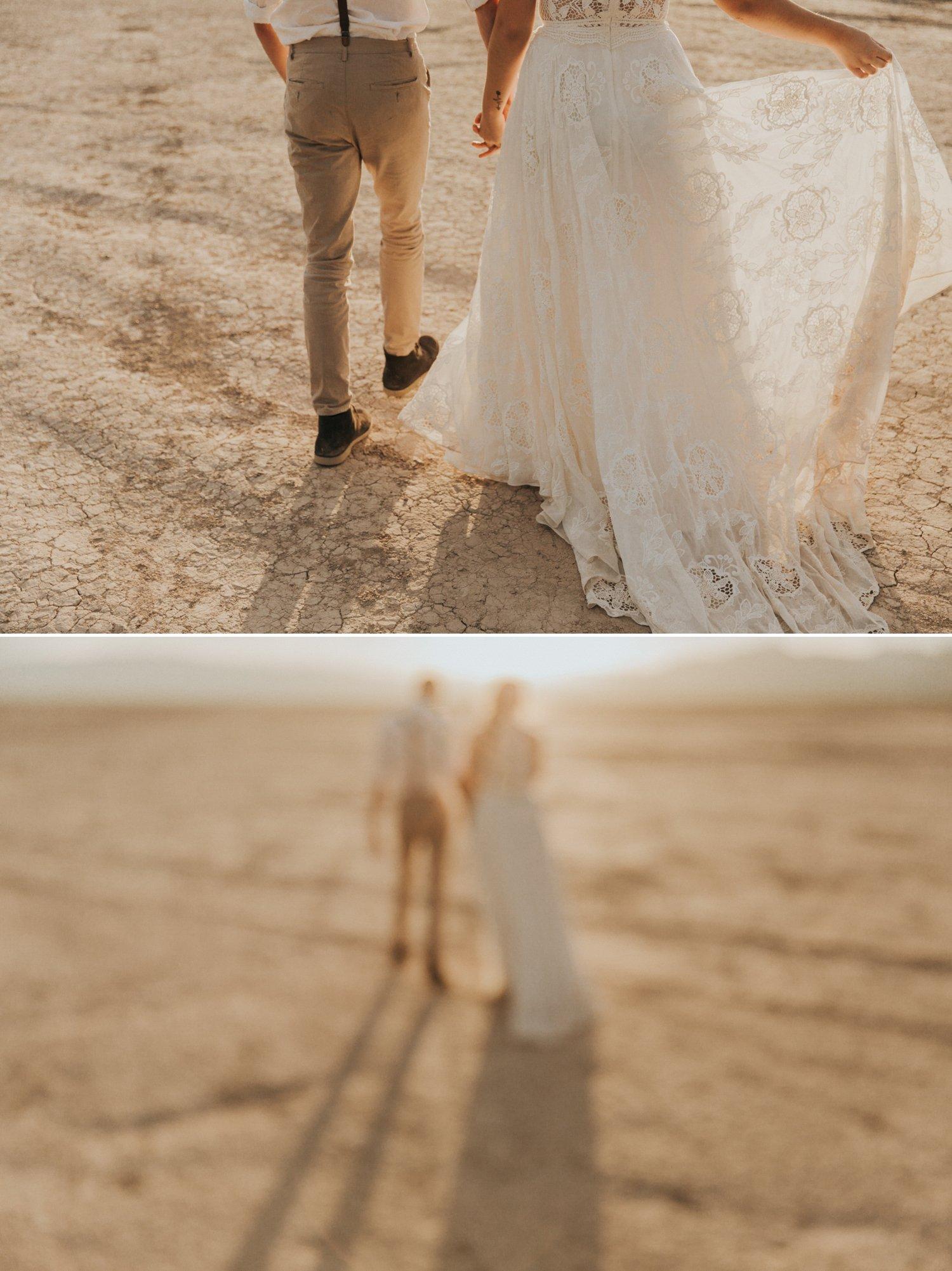 Las Vegas Elopement Dry Lake Bed