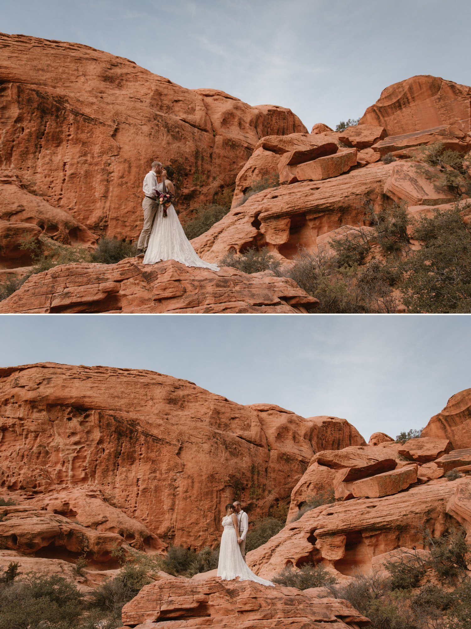 Red Rock Canyon Elopement Las Vegas