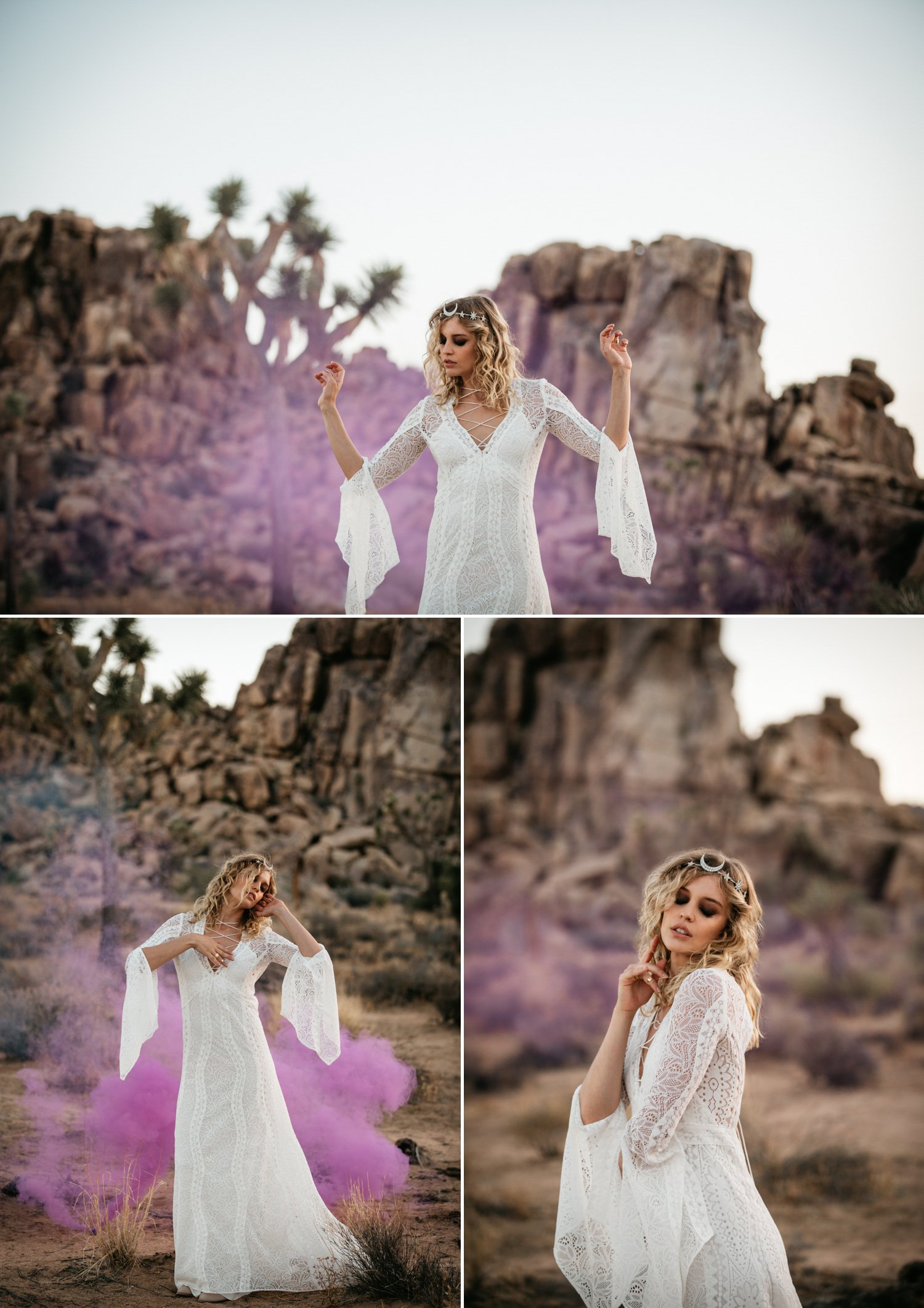 Joshua Tree Wedding Paige Nelson