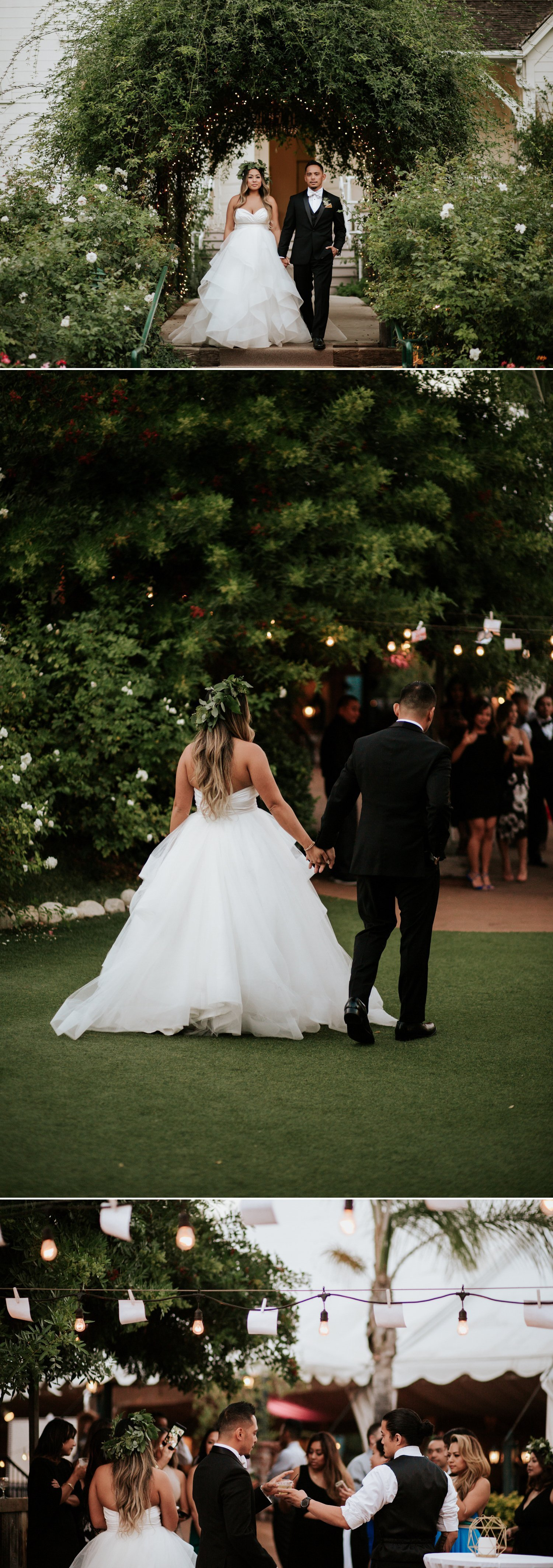 Chic garden wedding in San Diego