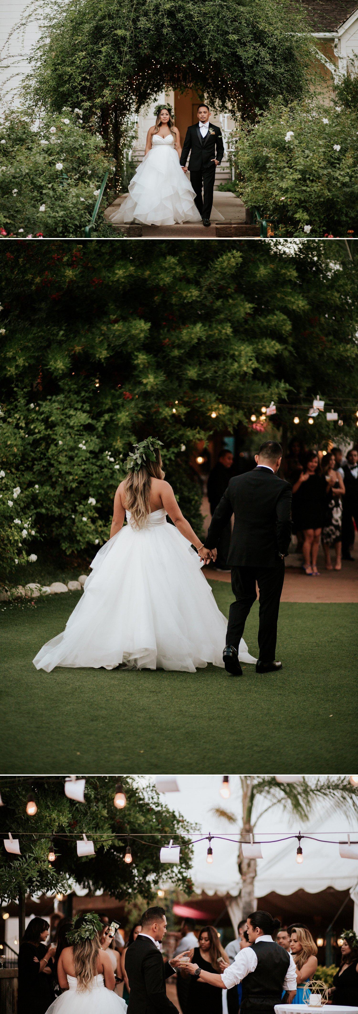 Chic garden wedding in San Diego