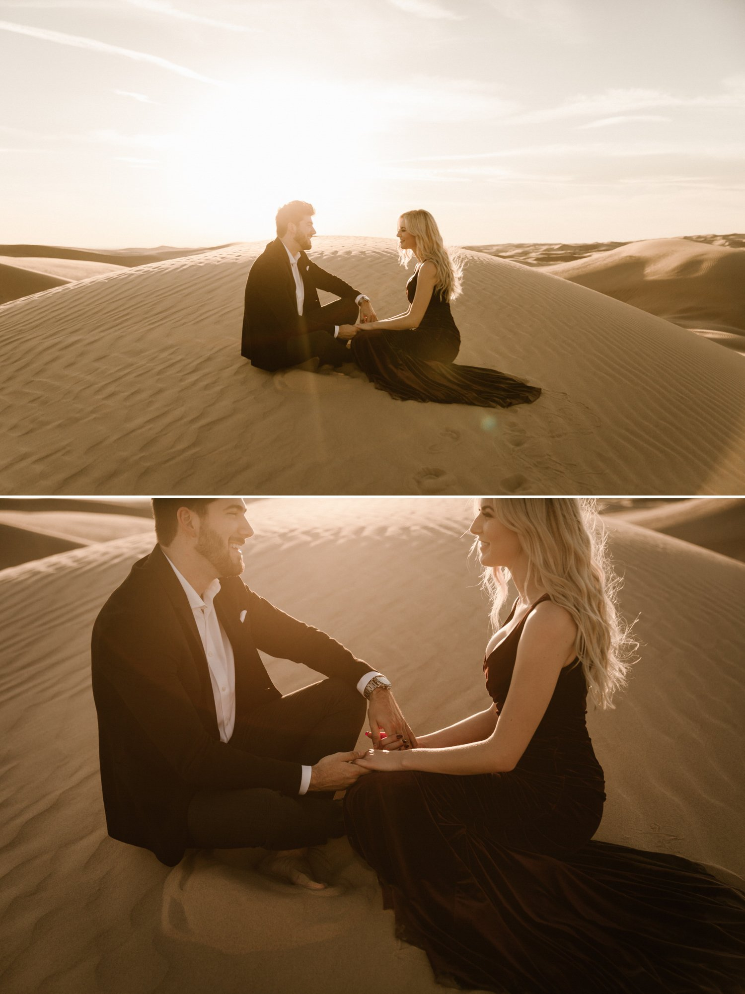 Sand Dunes Engagement Glamis Austin Kailee