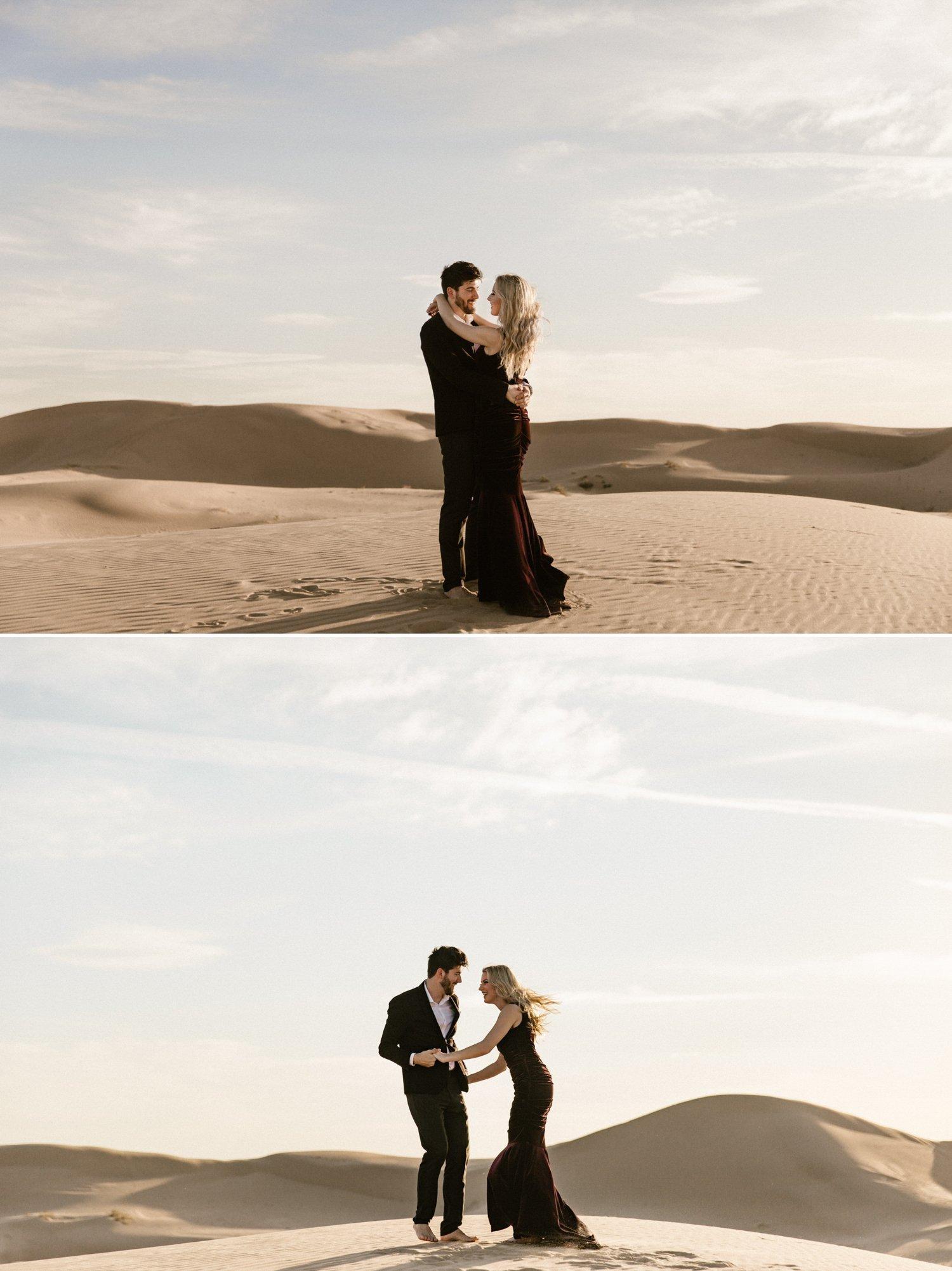Sand Dunes Engagement Glamis Austin Kailee