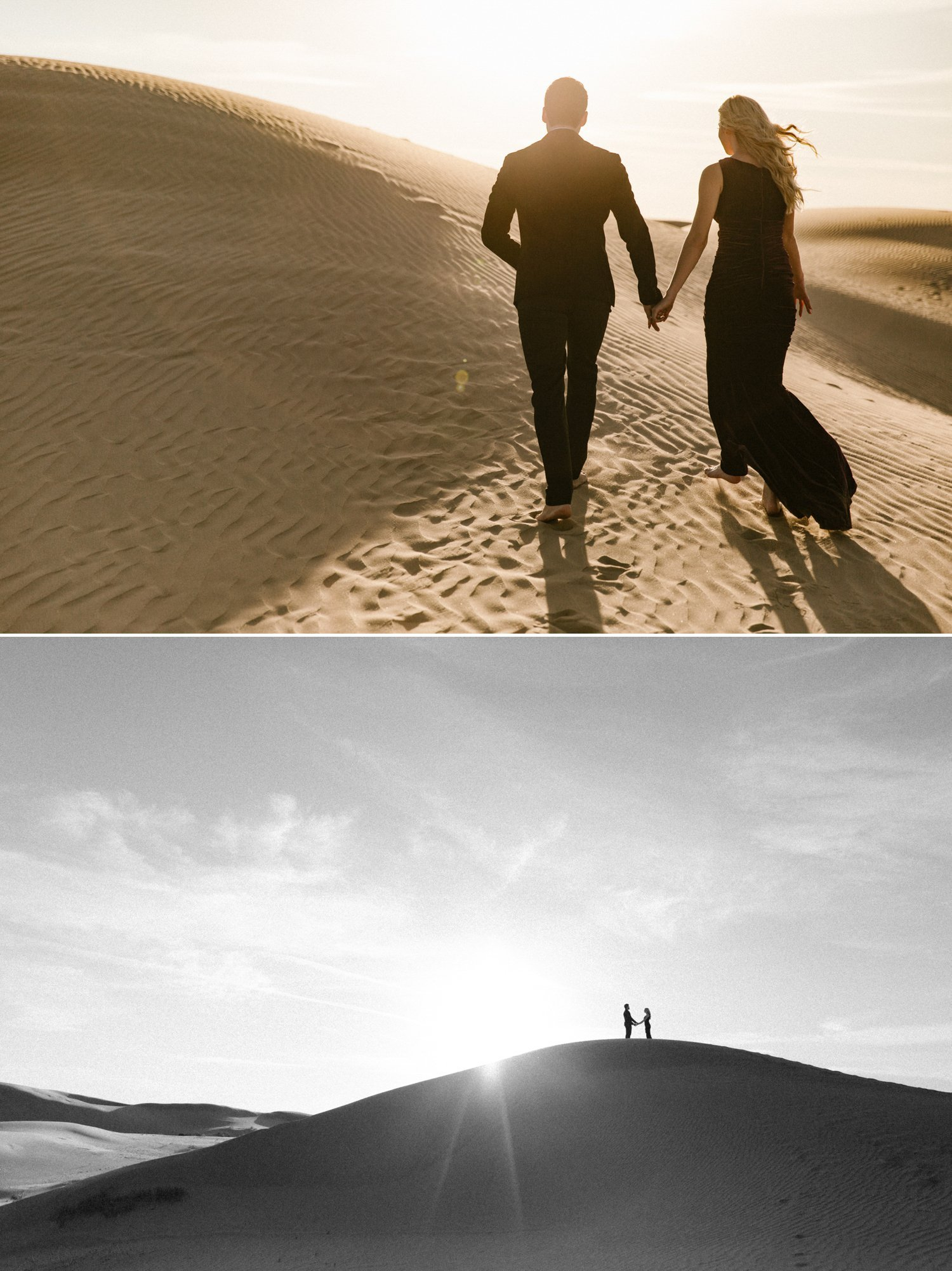 Imperial Sand Dunes engagement Glamis