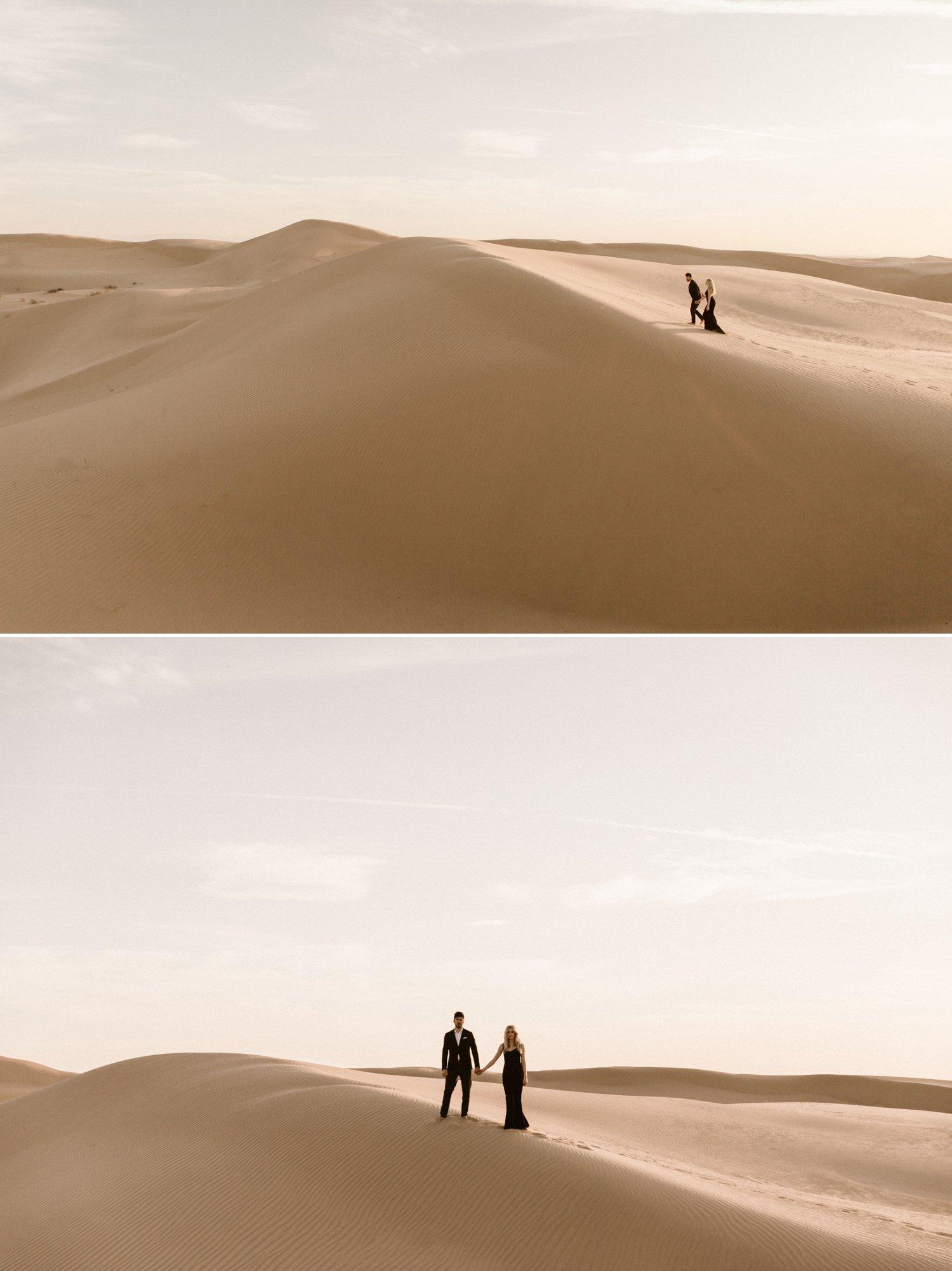 Imperial Sand Dunes engagement Glamis