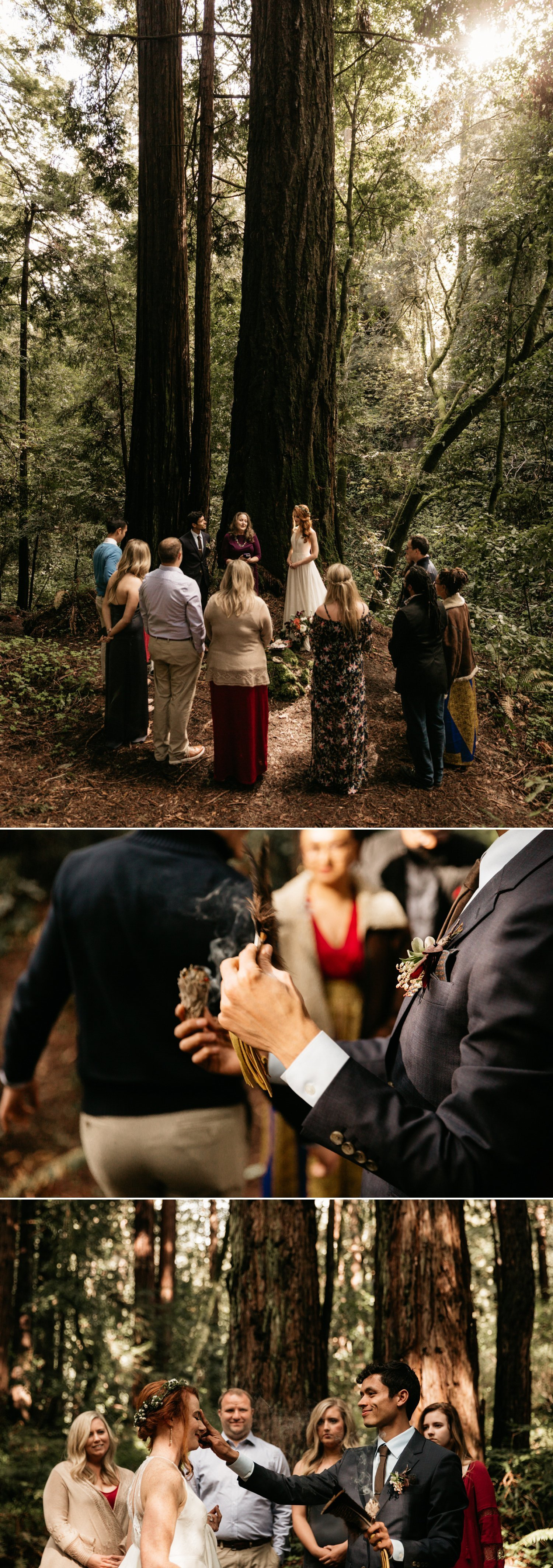 Forest of Nisene Marks wedding Santa Cruz