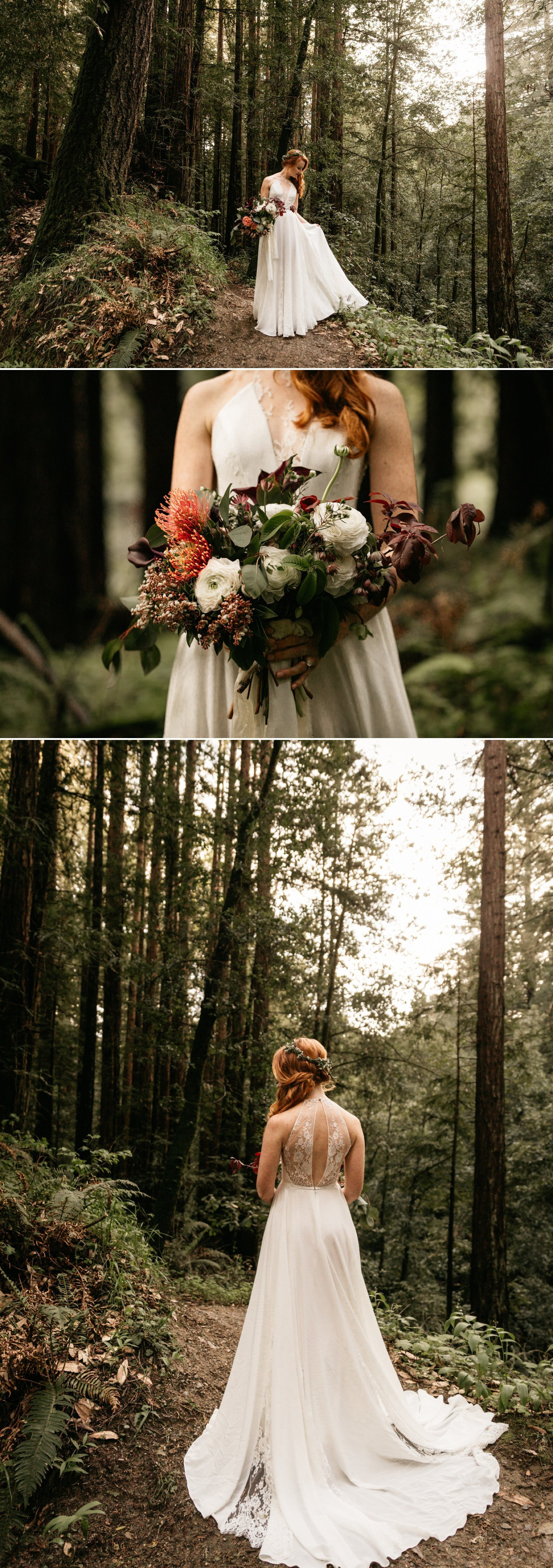 Redwood elopement in Santa Cruz
