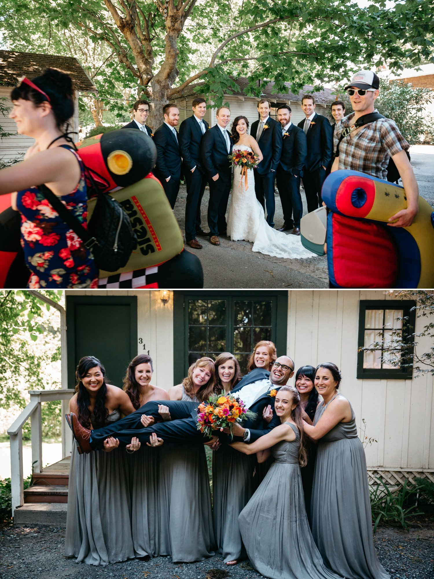 Summer Camp Wedding in Guerneville