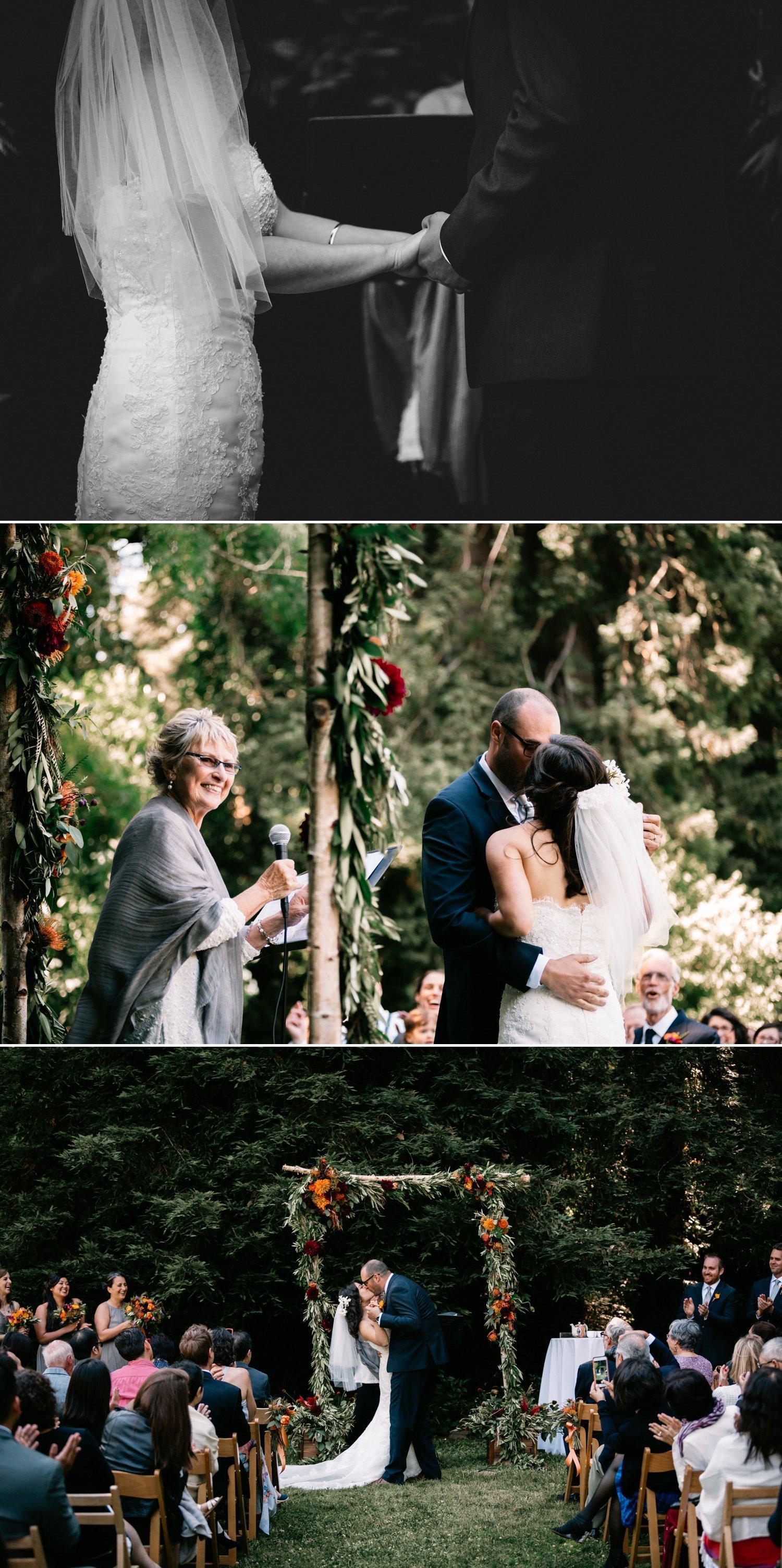 Dawn Ranch Lodge Wedding Guerneville