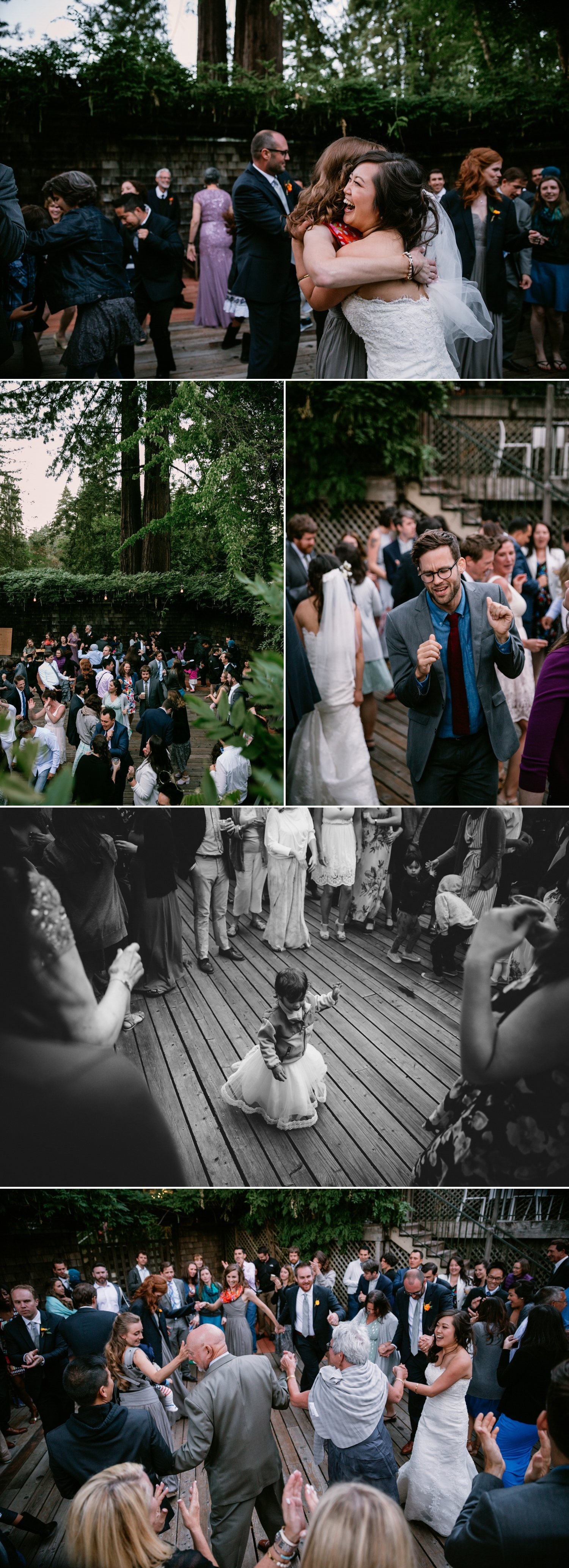 Summer Camp wedding in Guerneville Paige Nelson