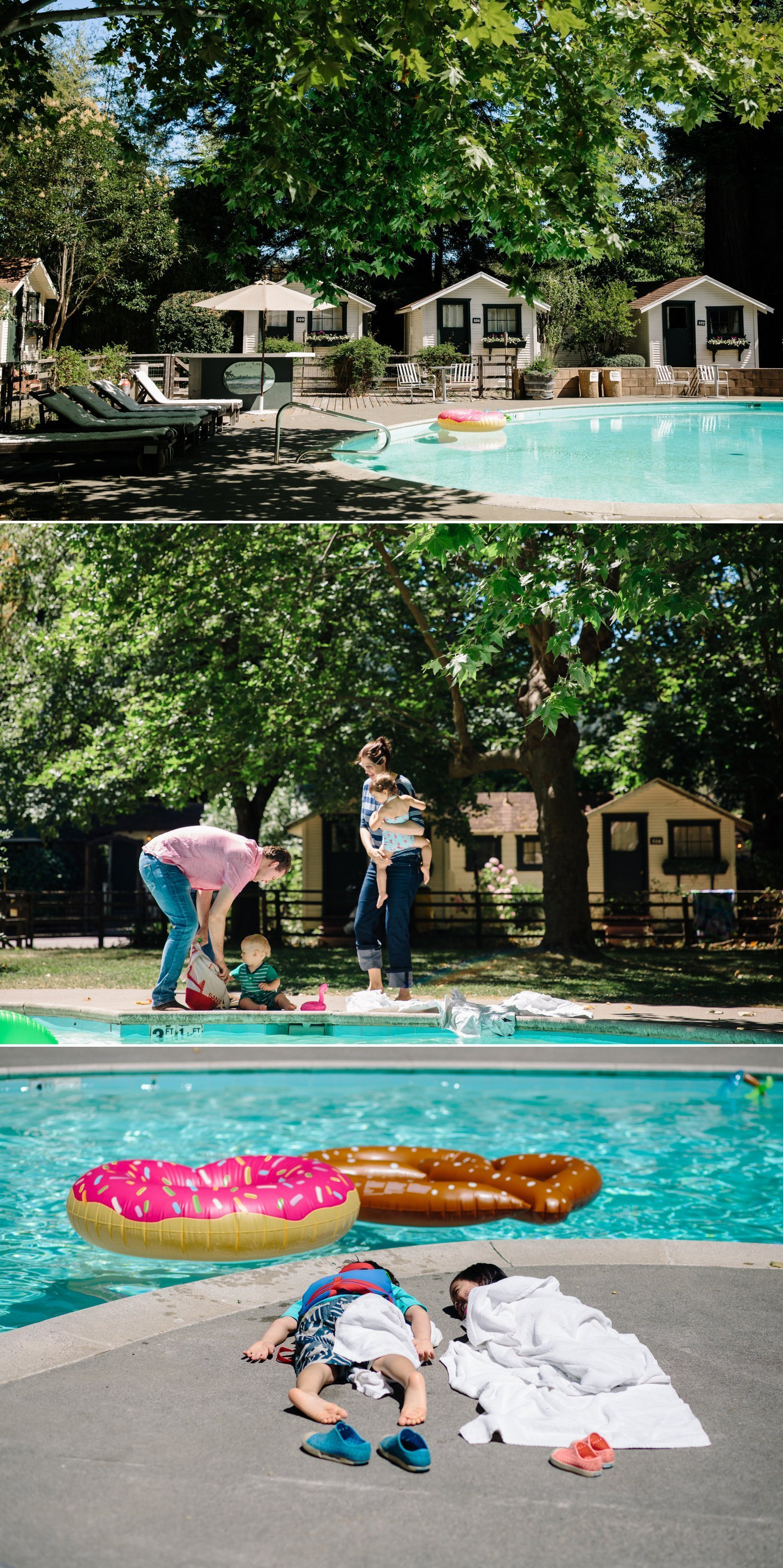 Summer Camp wedding Guerneville Paige Nelson