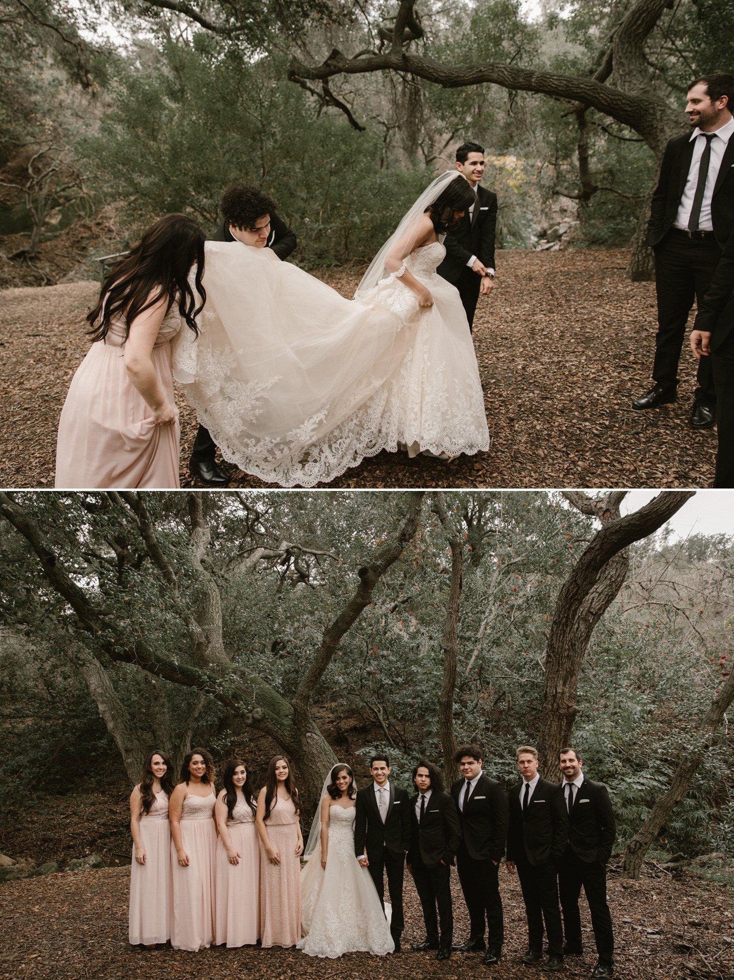 Oak Canyon Nature Center wedding