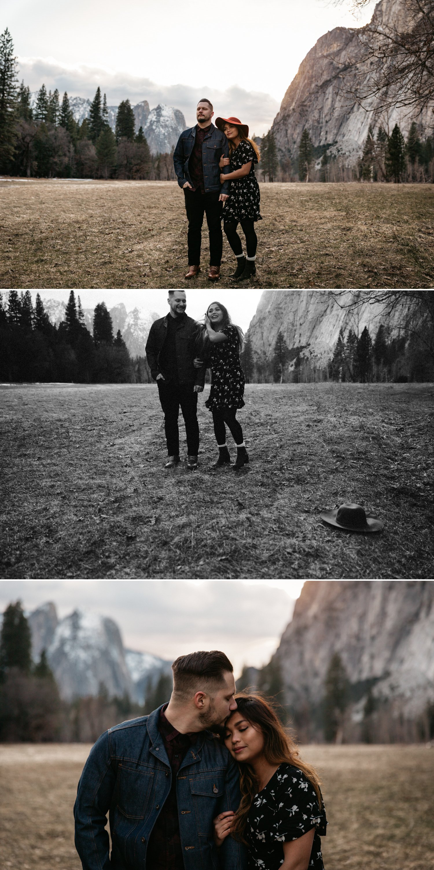 Yosemite engagement Paige Nelson Photography