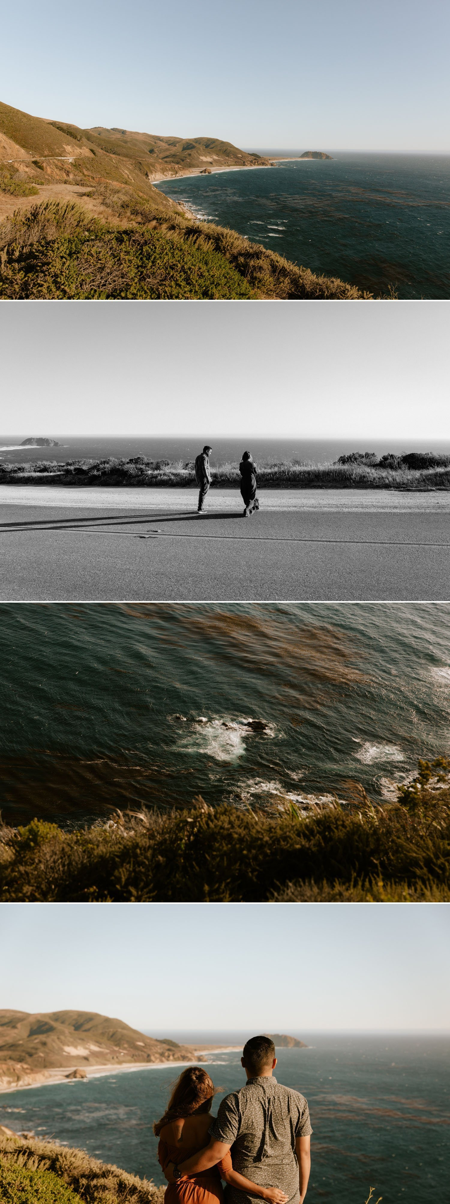Pacific Coast Highway Engagement in Big Sur